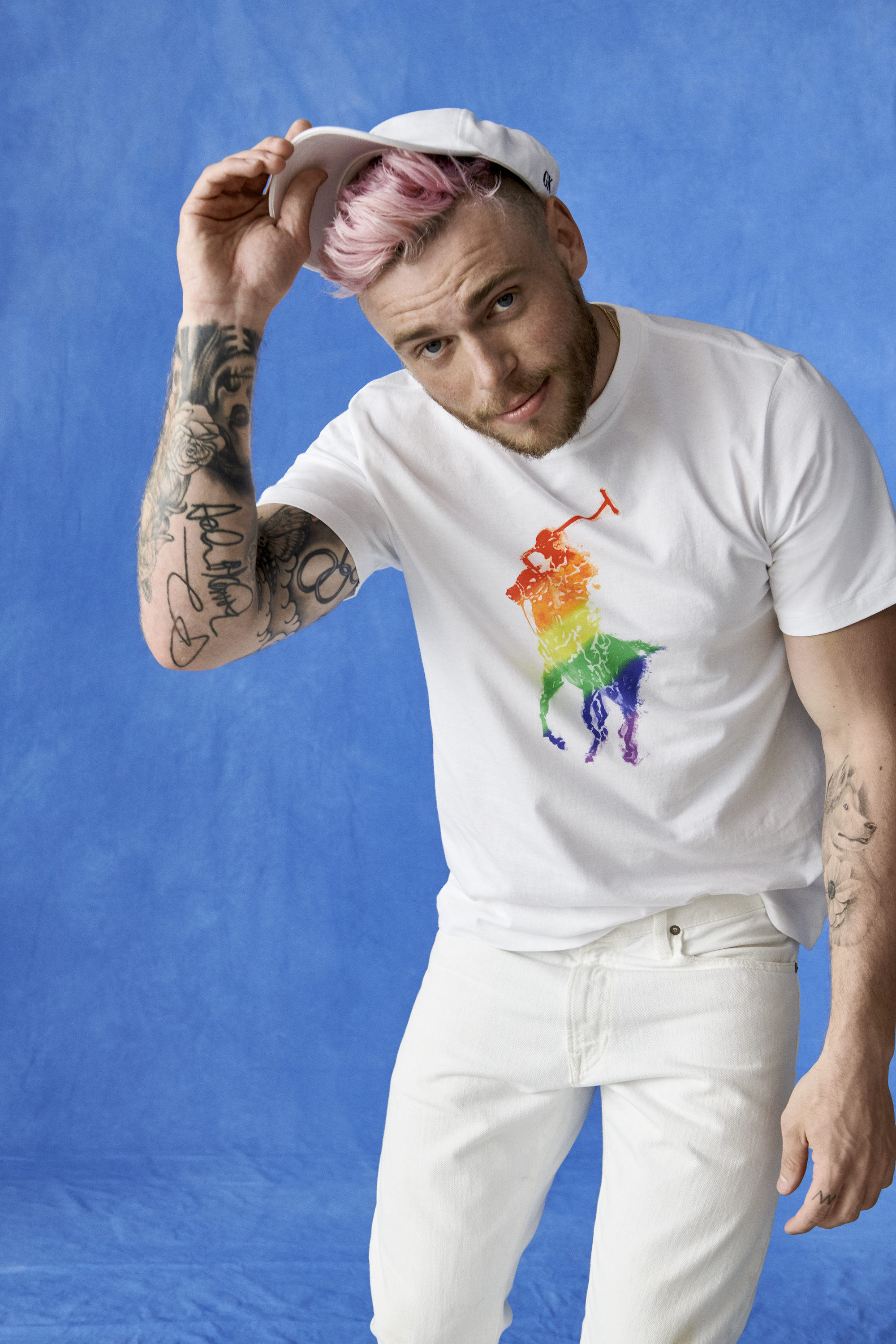 Ralph Lauren unveils its Pride collection featuring Gus Kenworthy
