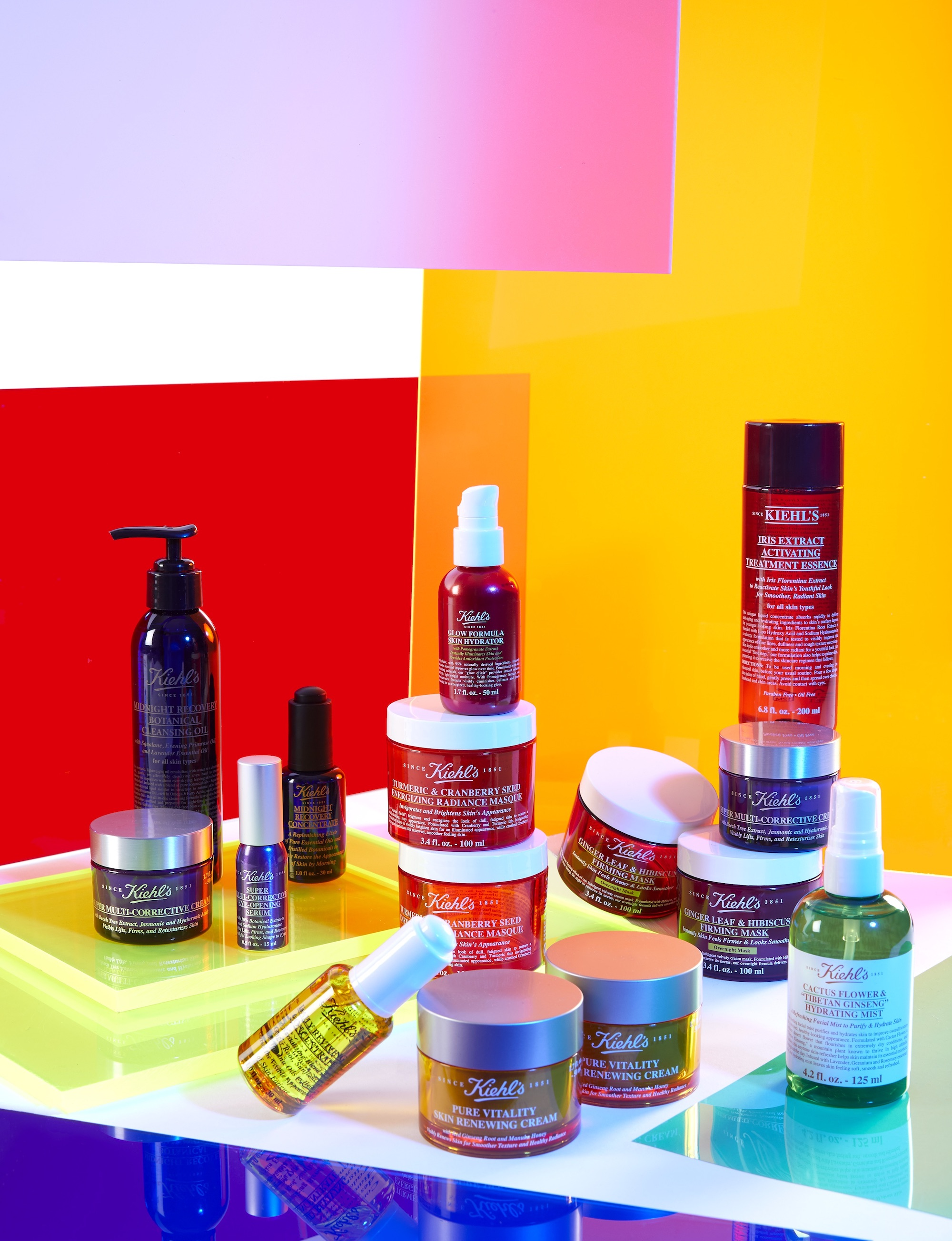 Kiehl's x Pride in Summer 19 issue of Wonderland