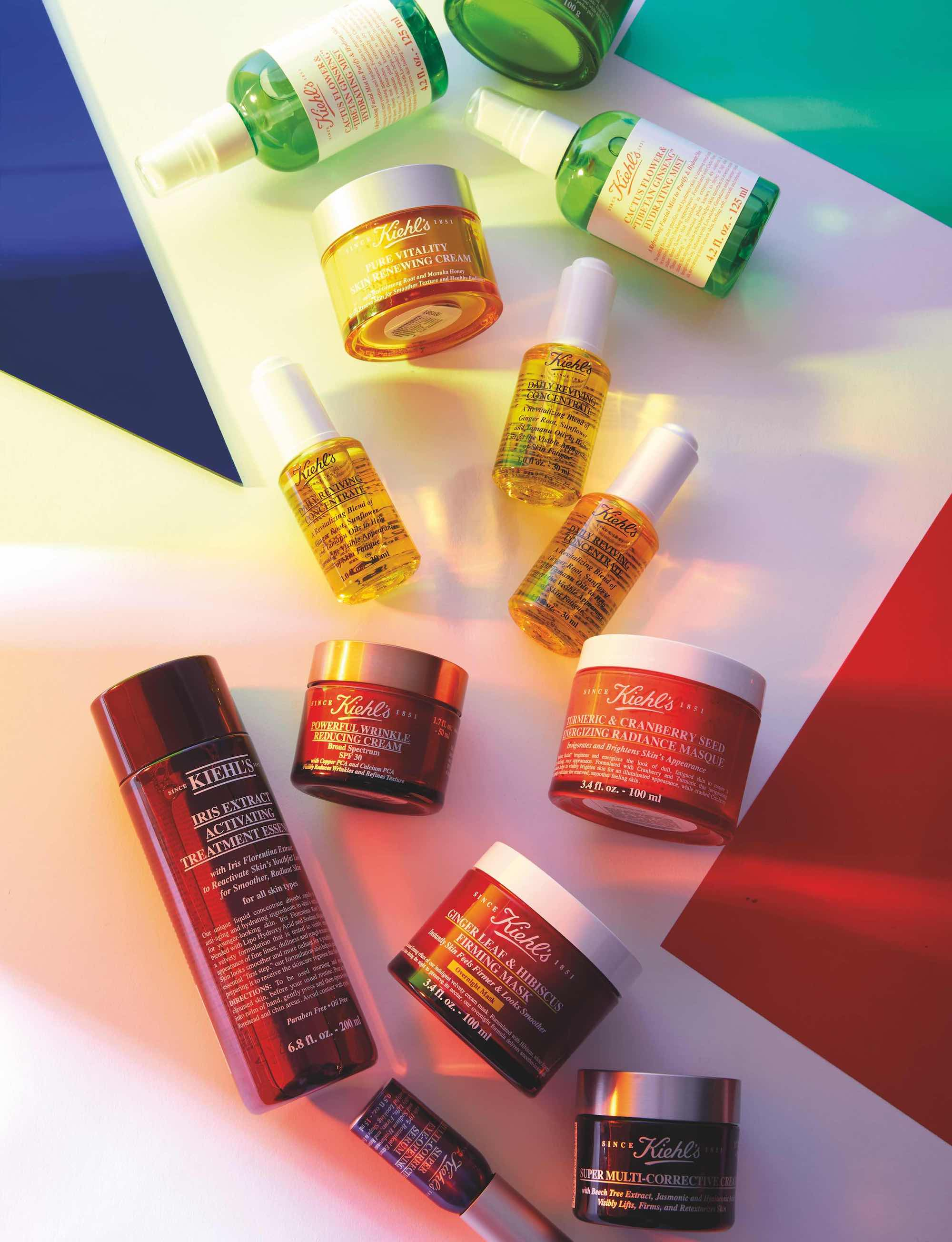 Kiehl's x Pride in Summer 19 issue of Wonderland colourway