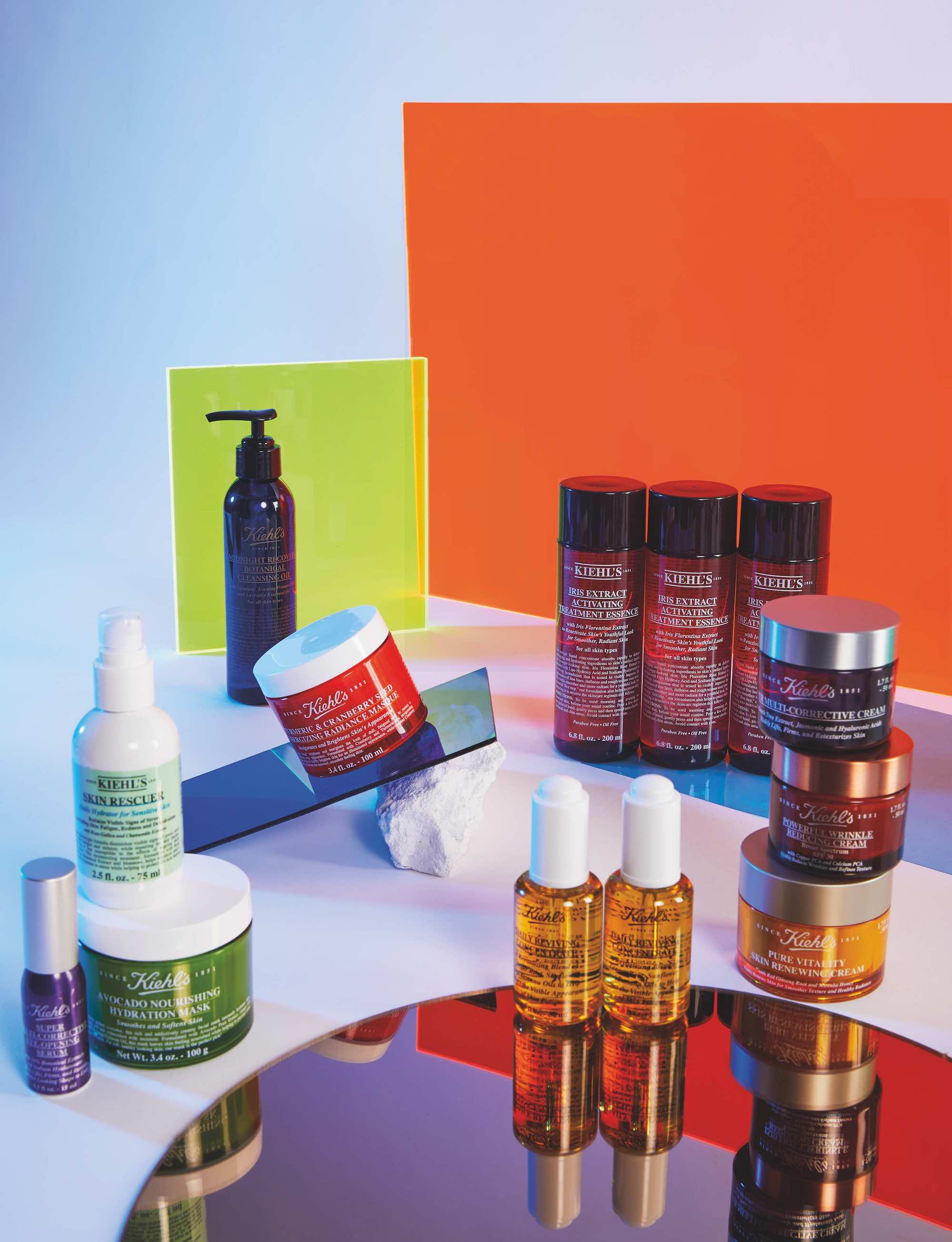 Kiehl's x Pride in Summer 19 issue of Wonderland products
