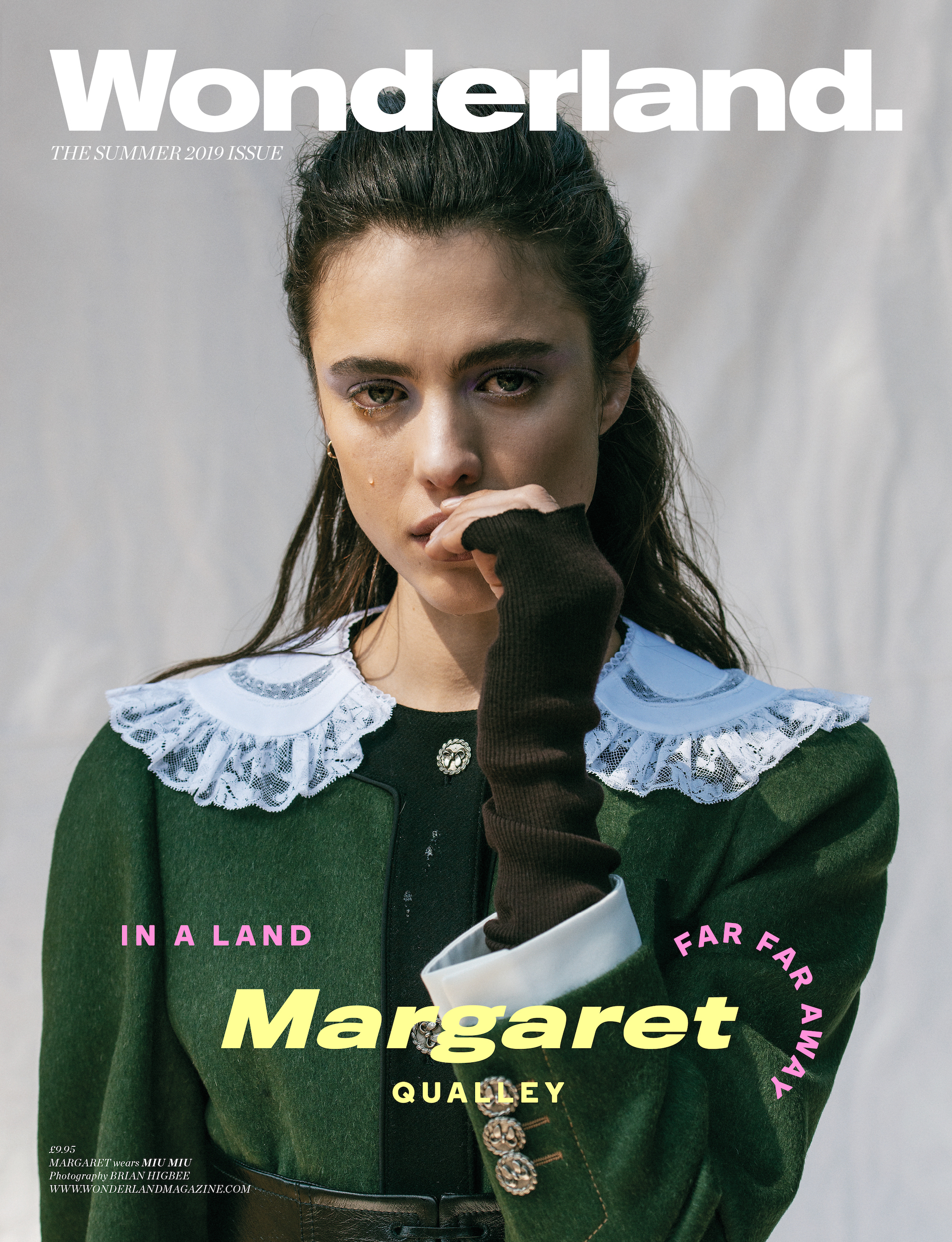 Margaret Qualley on the cover of the Summer 19 issue