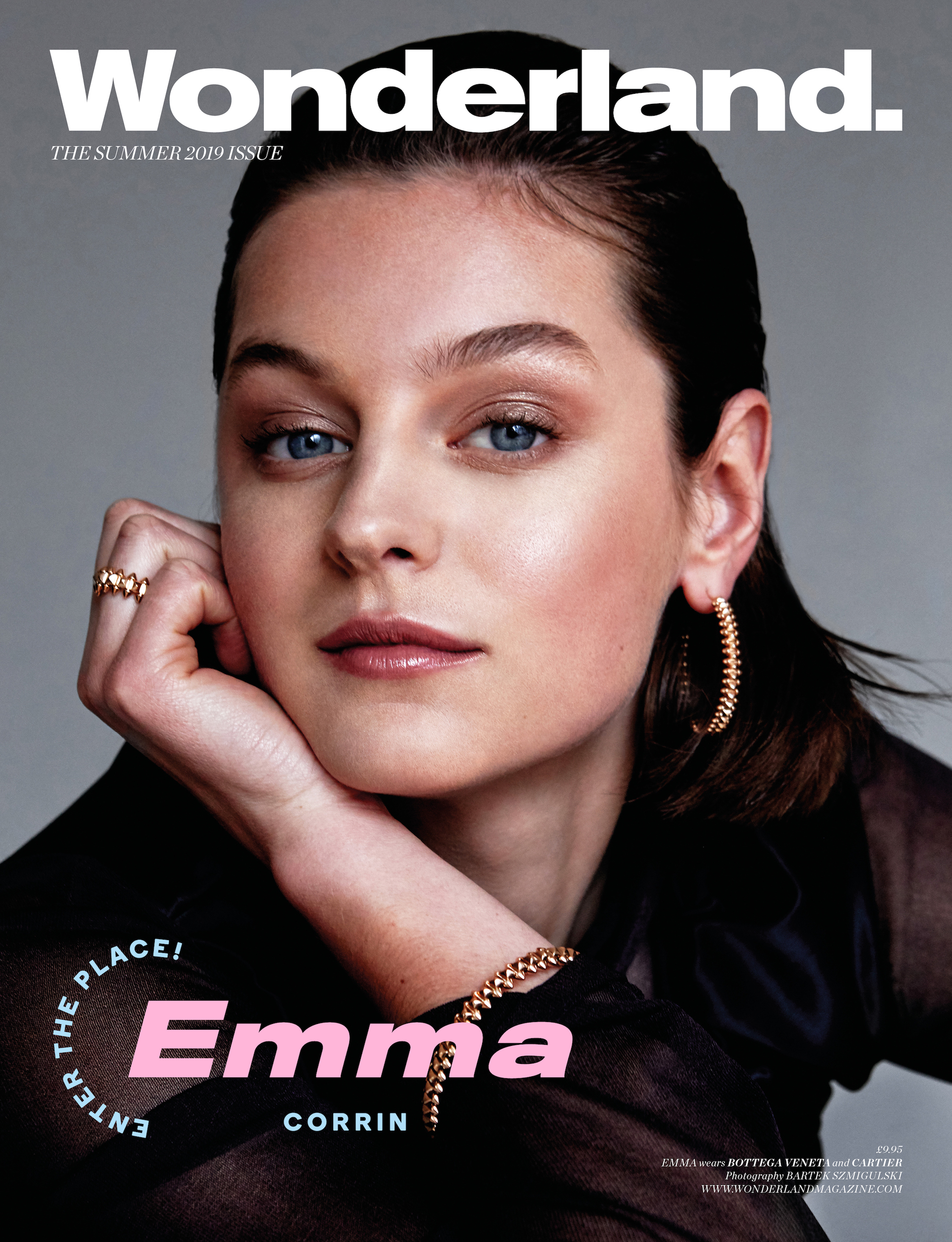 Emma Corrin from The Crown on the Summer 19 issue of Wonderland
