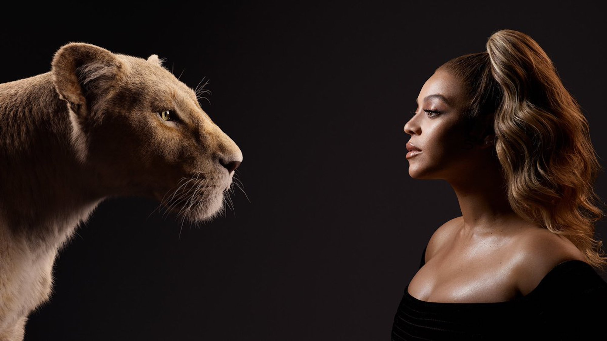 Beyonce in new Lion King poster