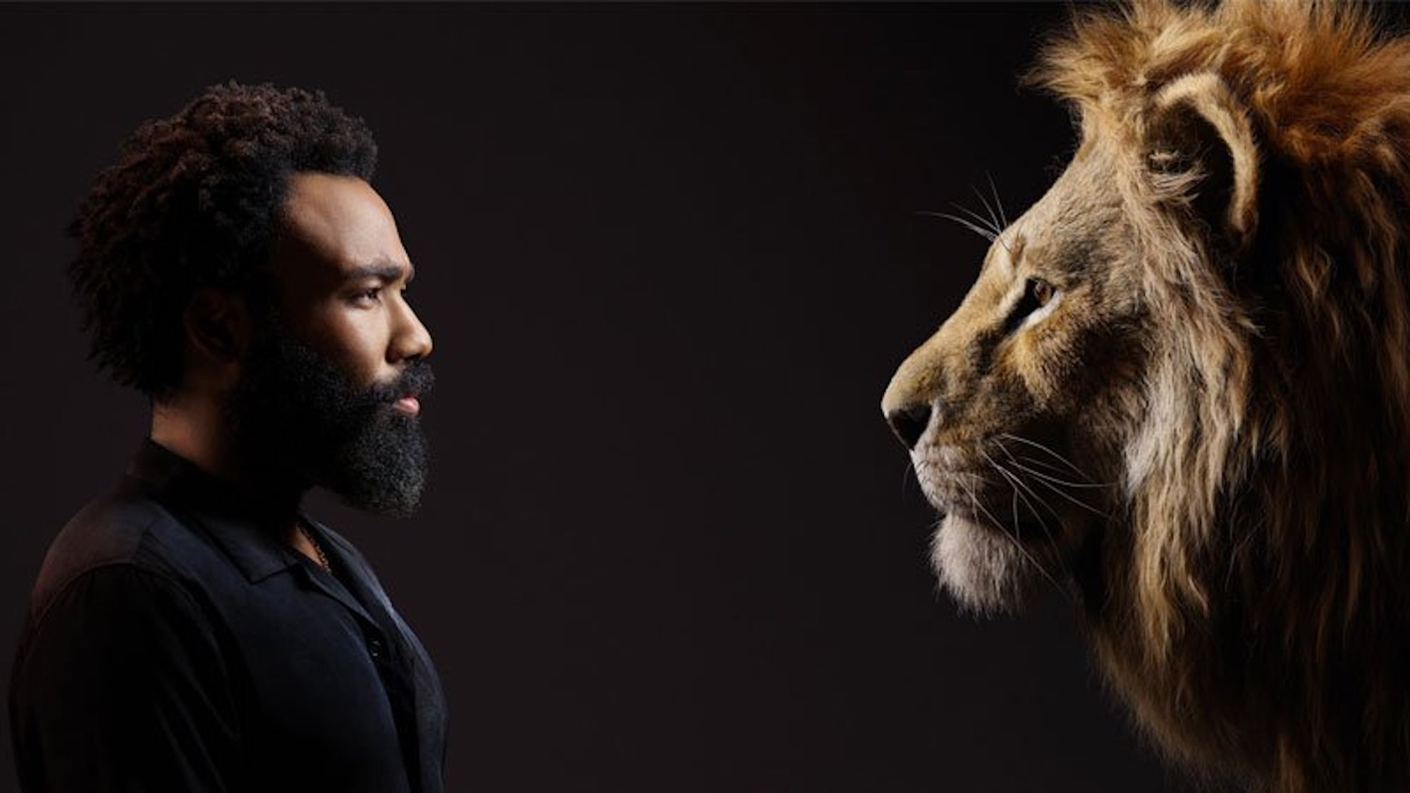 Donald Glover in new Lion King poster