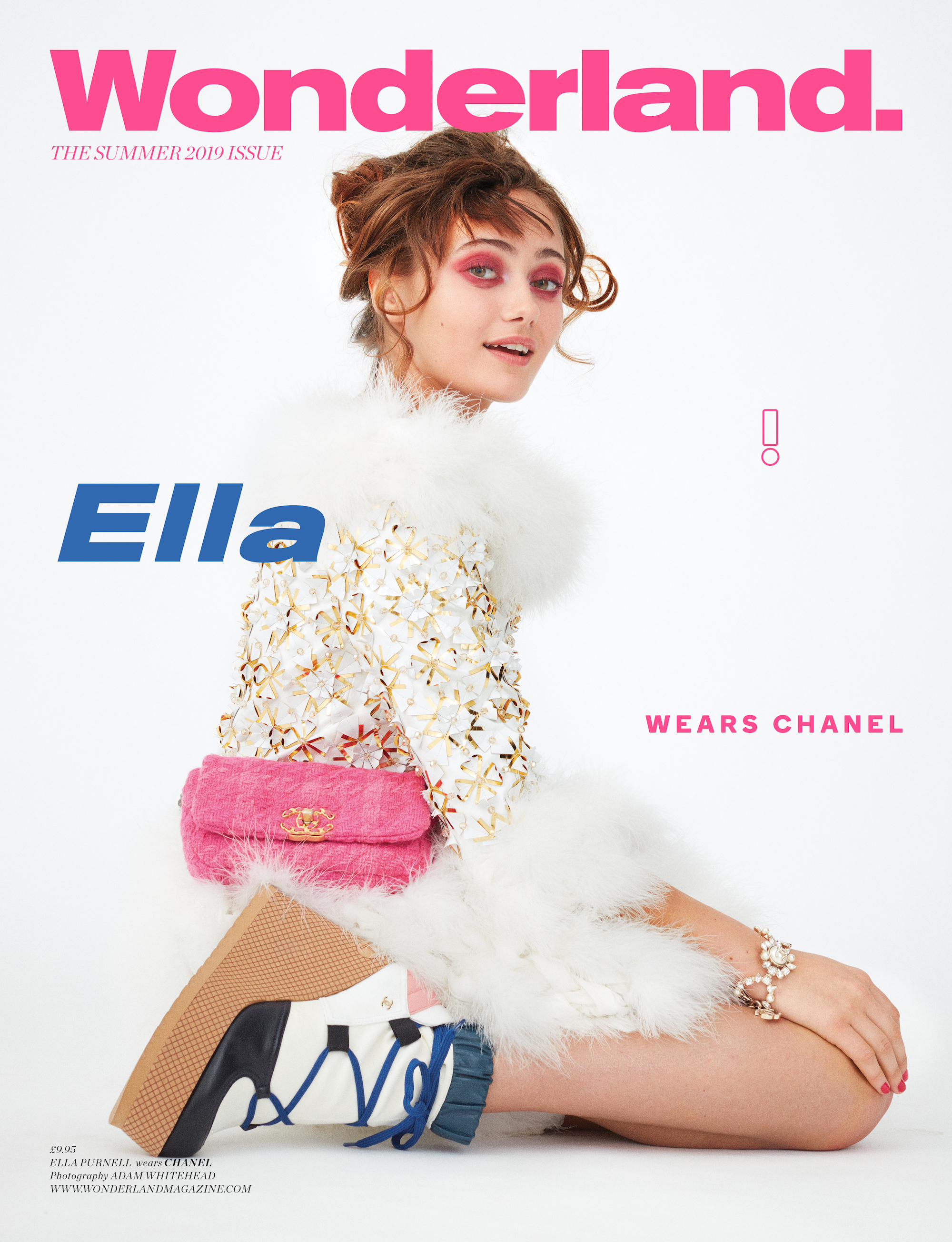 Actress Ella Purnell on the cover of the Summer 19 issue