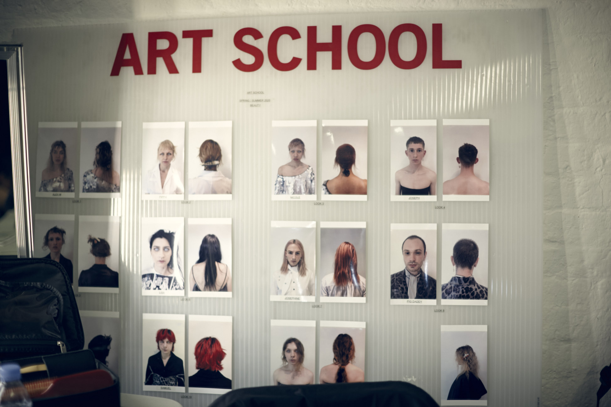 Art School Spring/Summer 2020 board