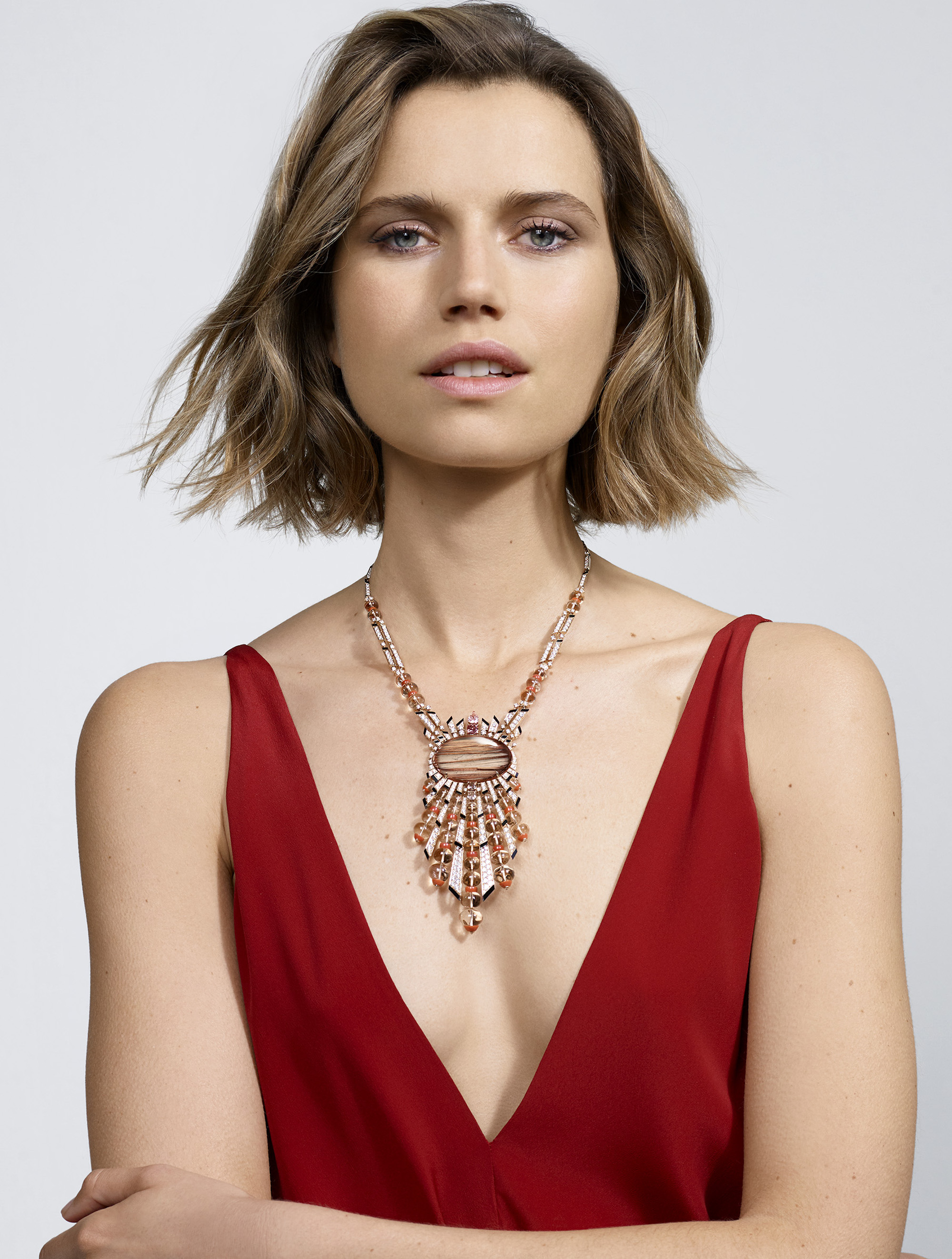 Cartier Magnitude high jewellery collection aphelie necklace