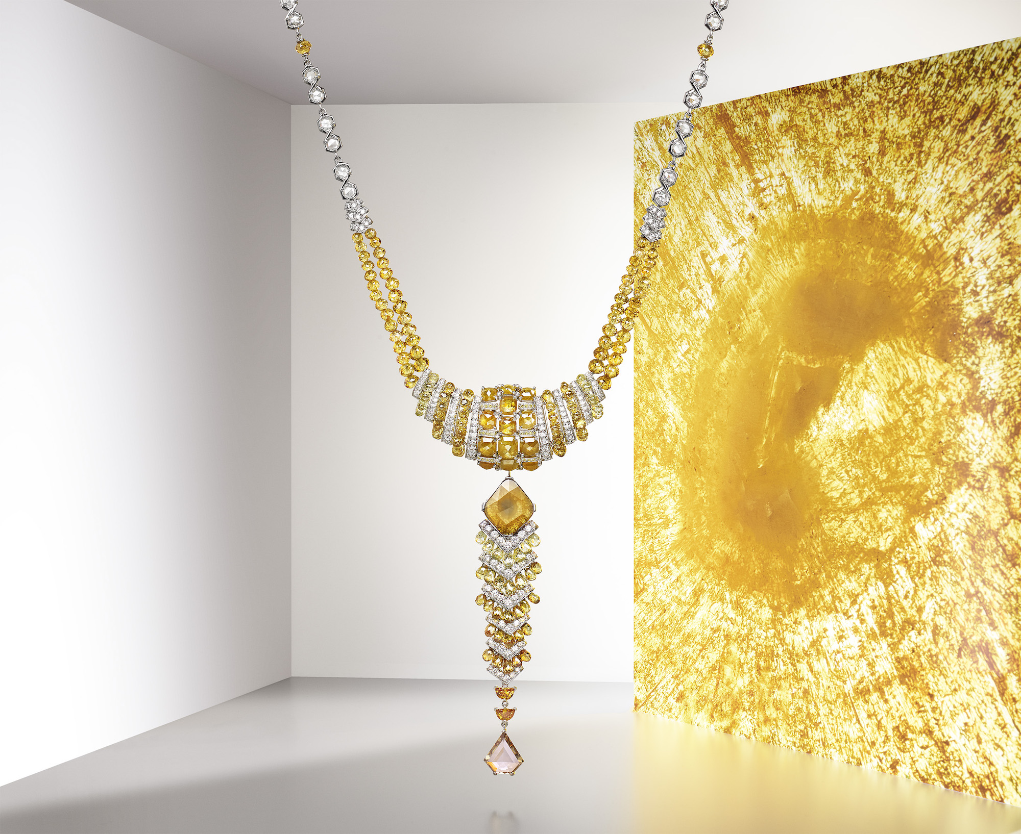 Cartier Magnitude high jewellery collection Yuma necklace