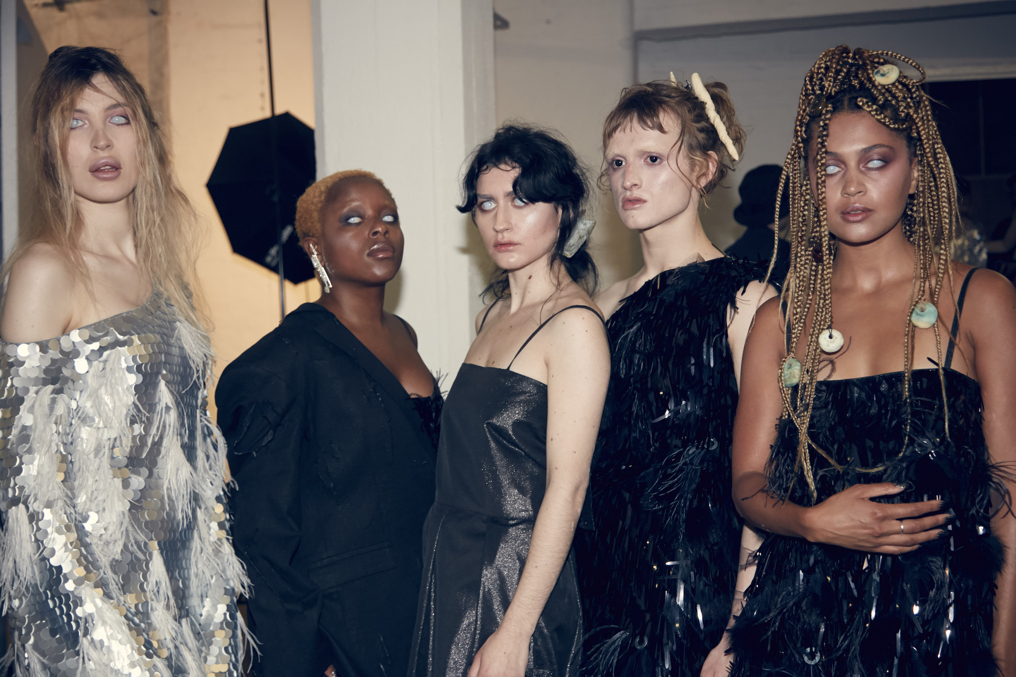 Art School Spring/Summer 2020 model group