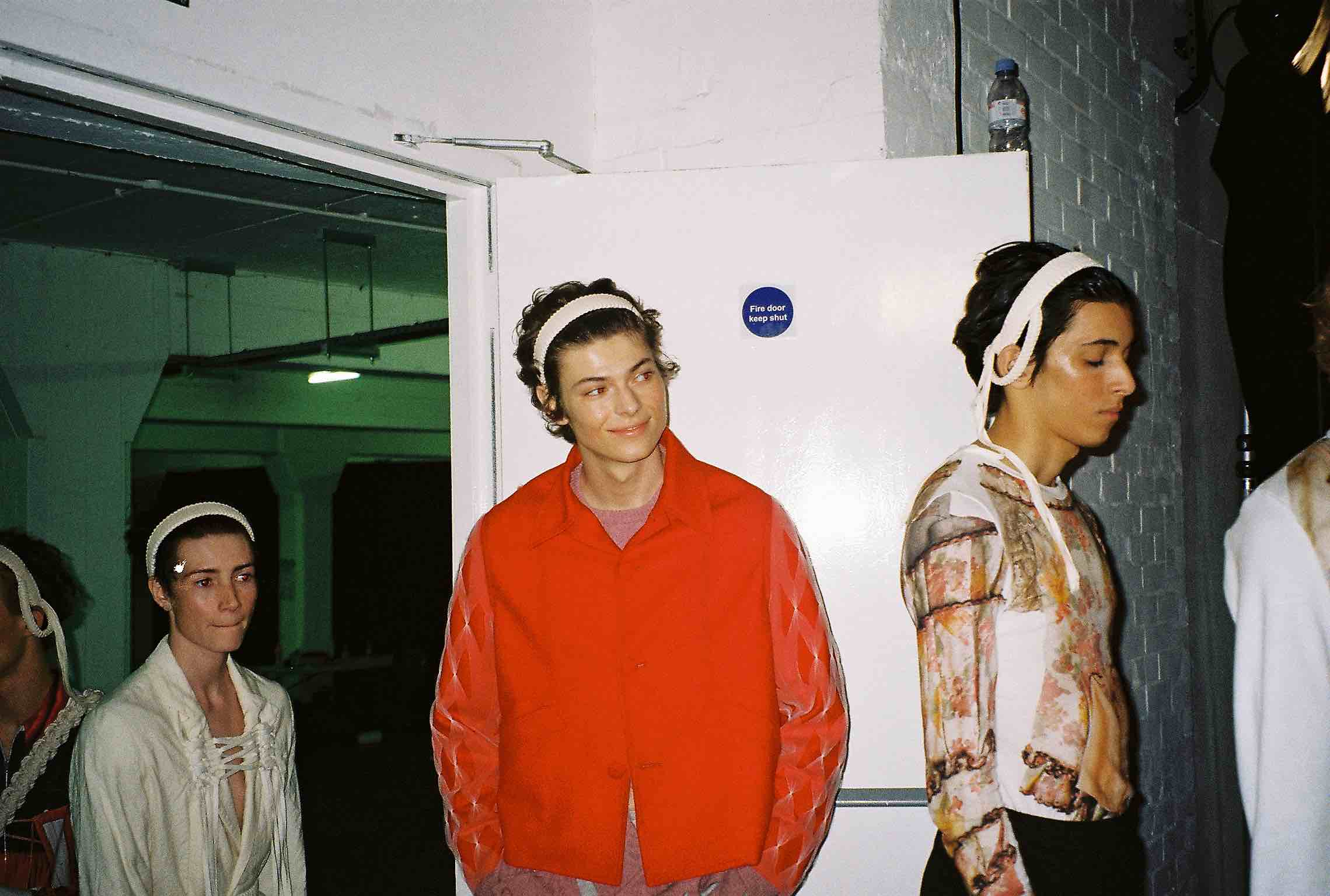 stefan cooke ss20 backstage photos