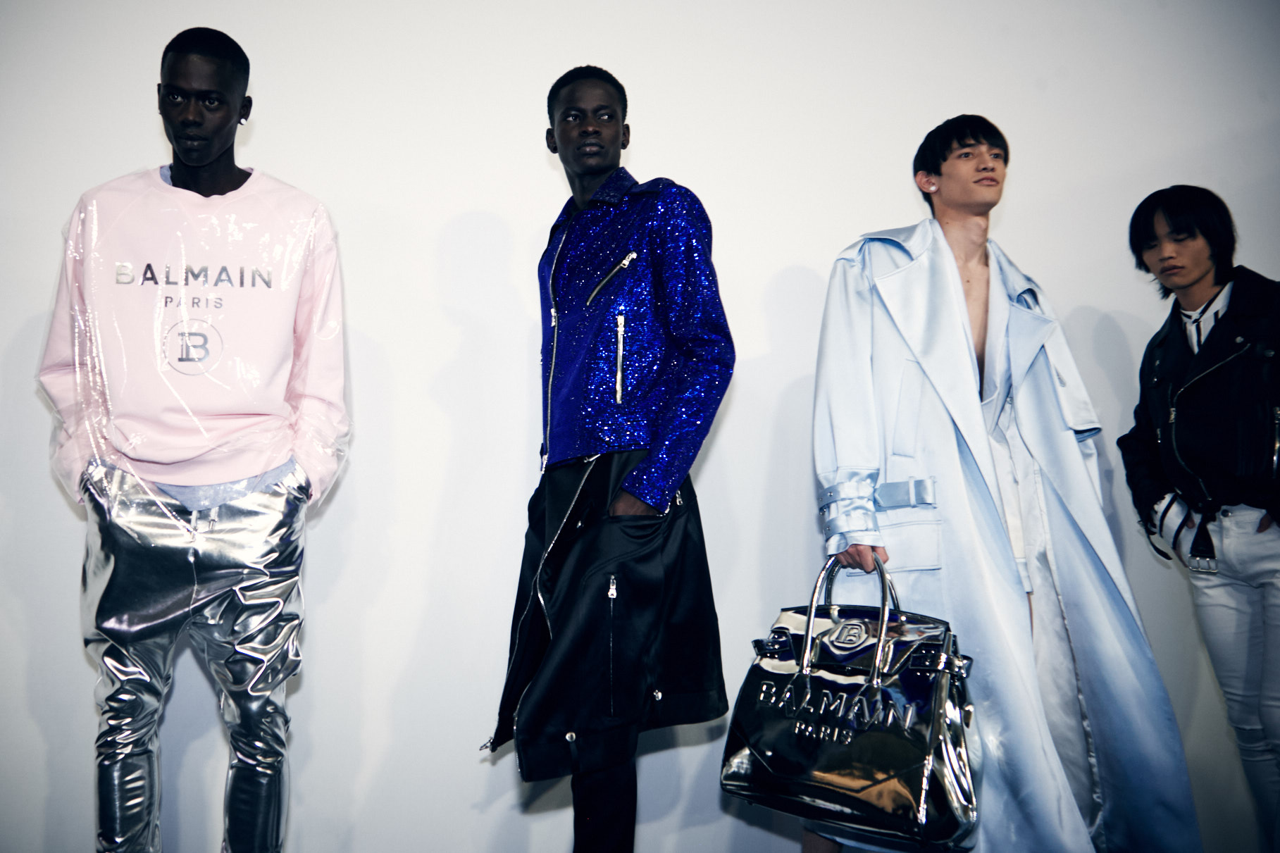 balmain paris fashion week men's ss20