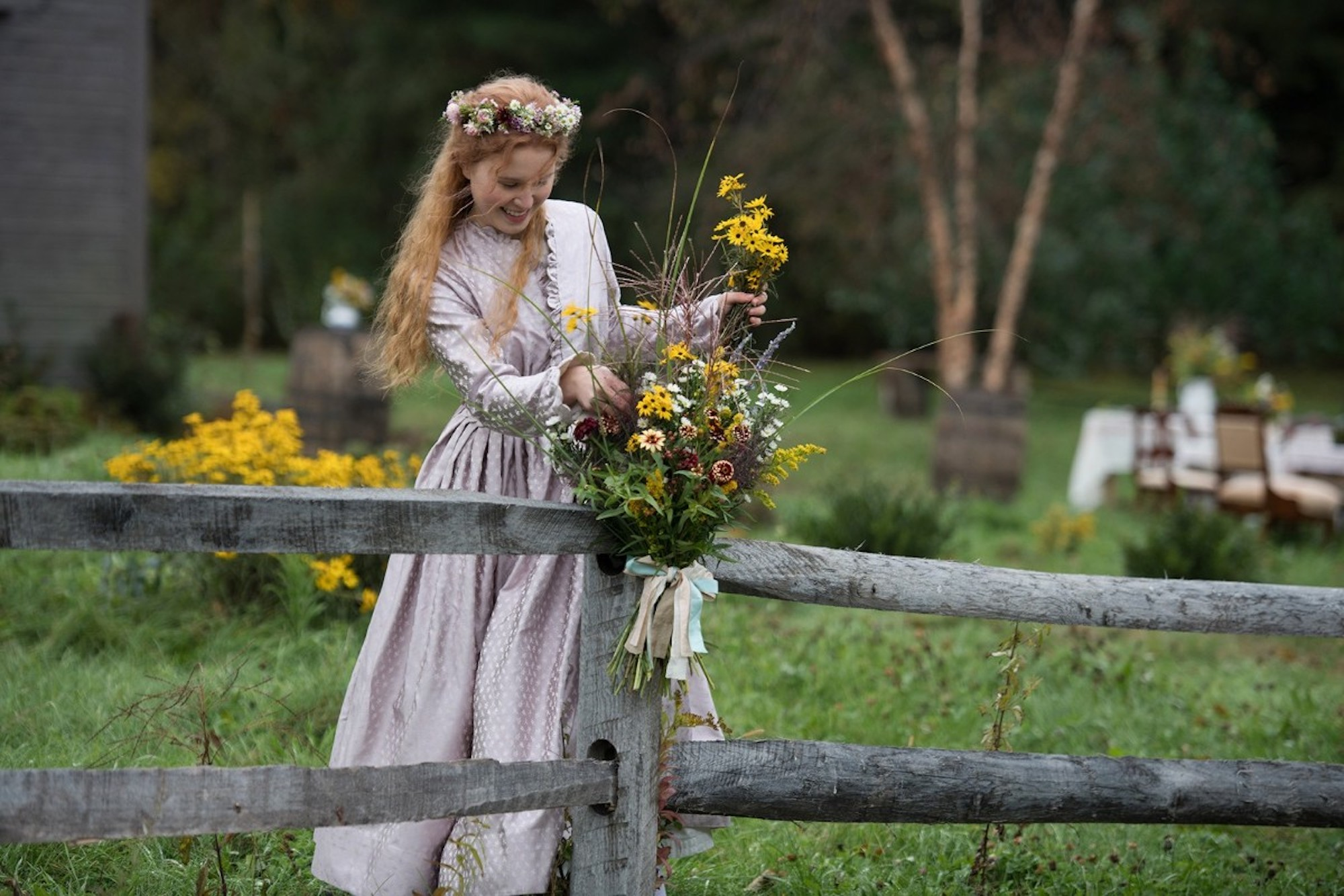 Greta Gerwig's Little Women floral