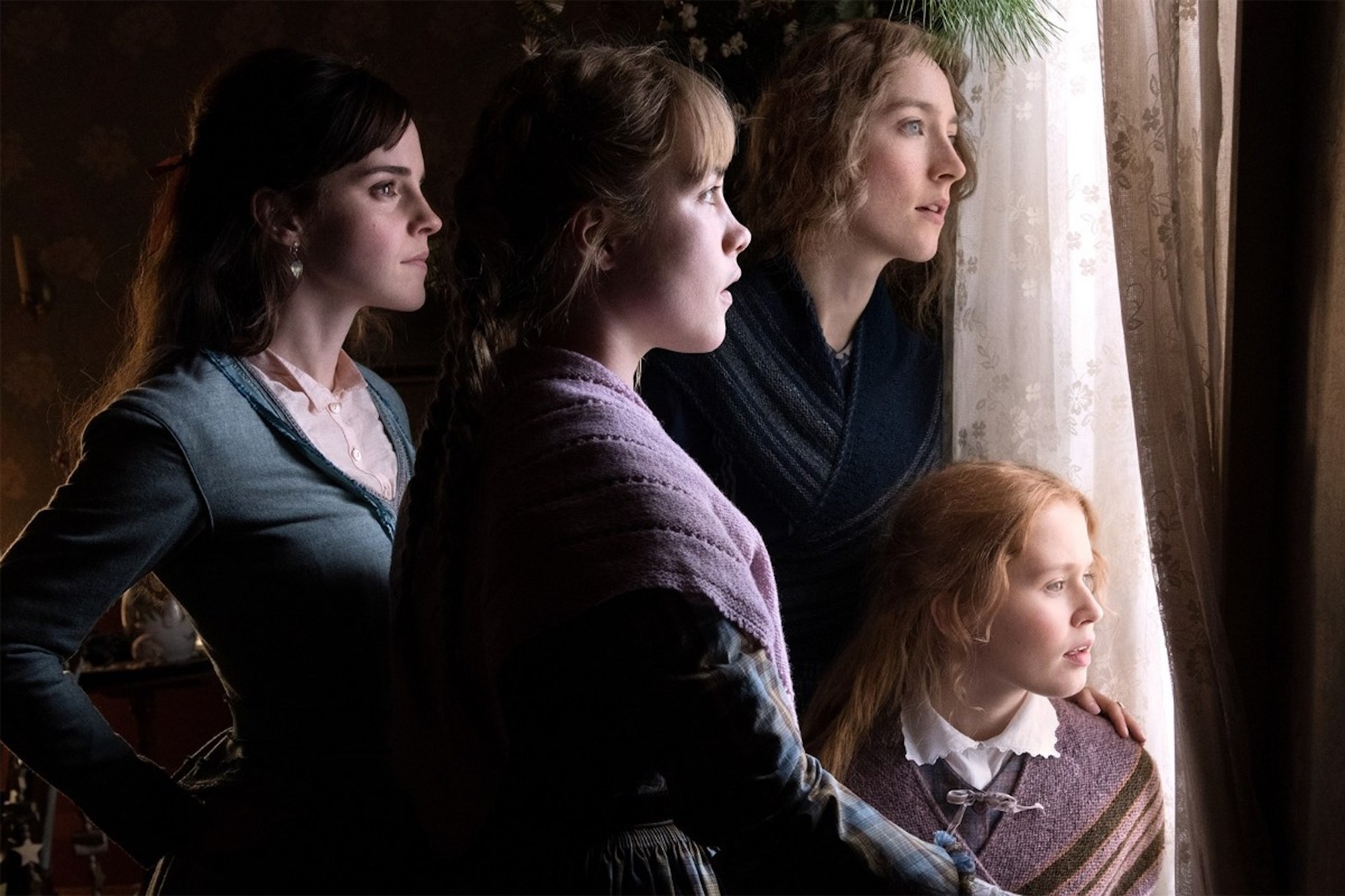 Greta Gerwig's Little Women group
