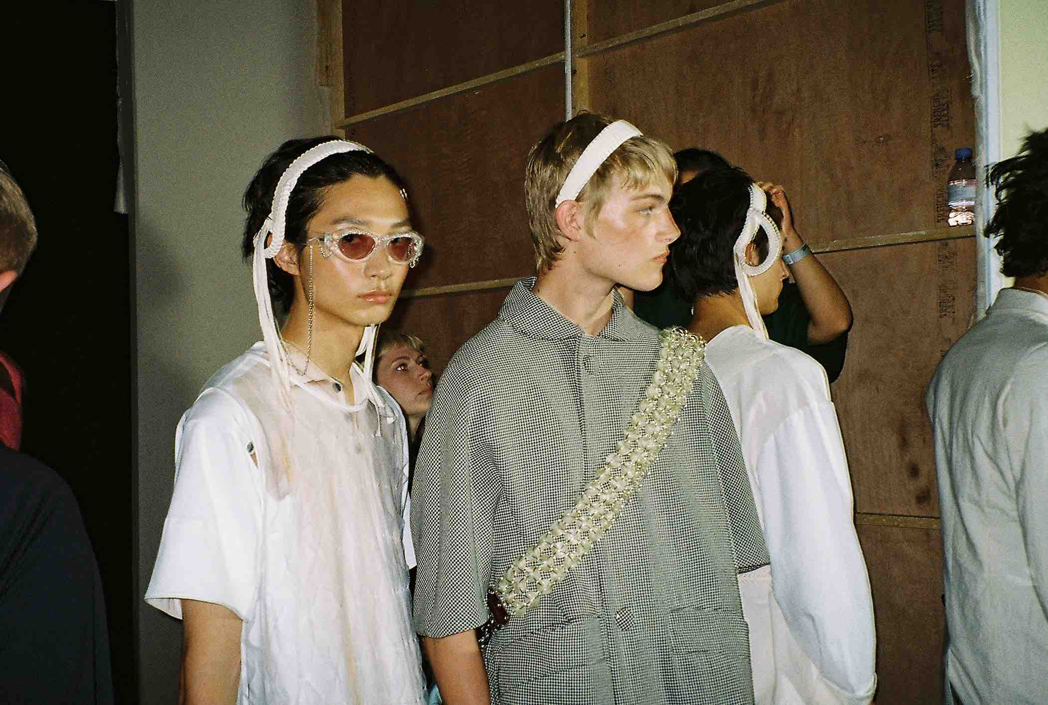 stefan cooke backstage london fashoin week mens ss20