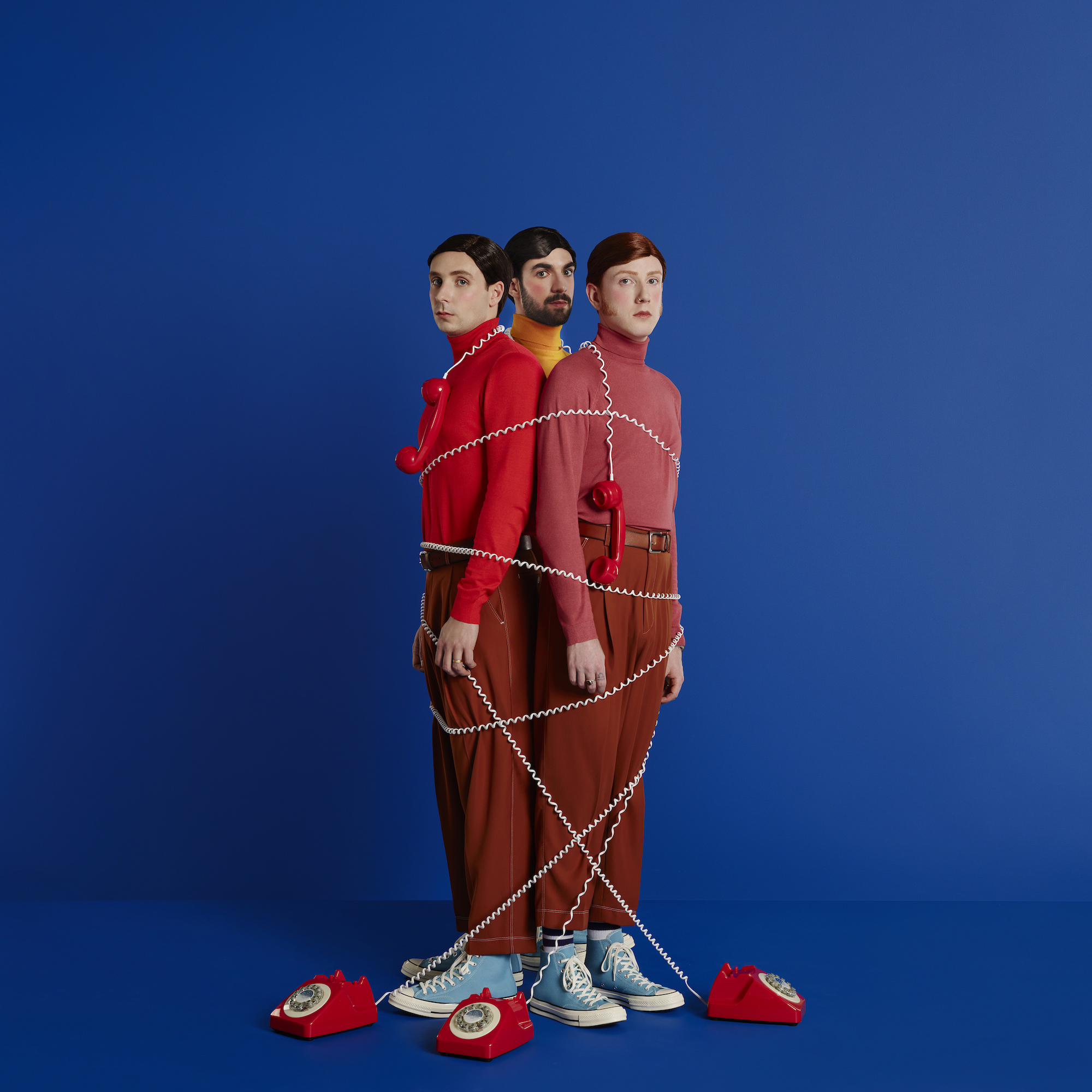 Two Door Cinema Club press image tied up