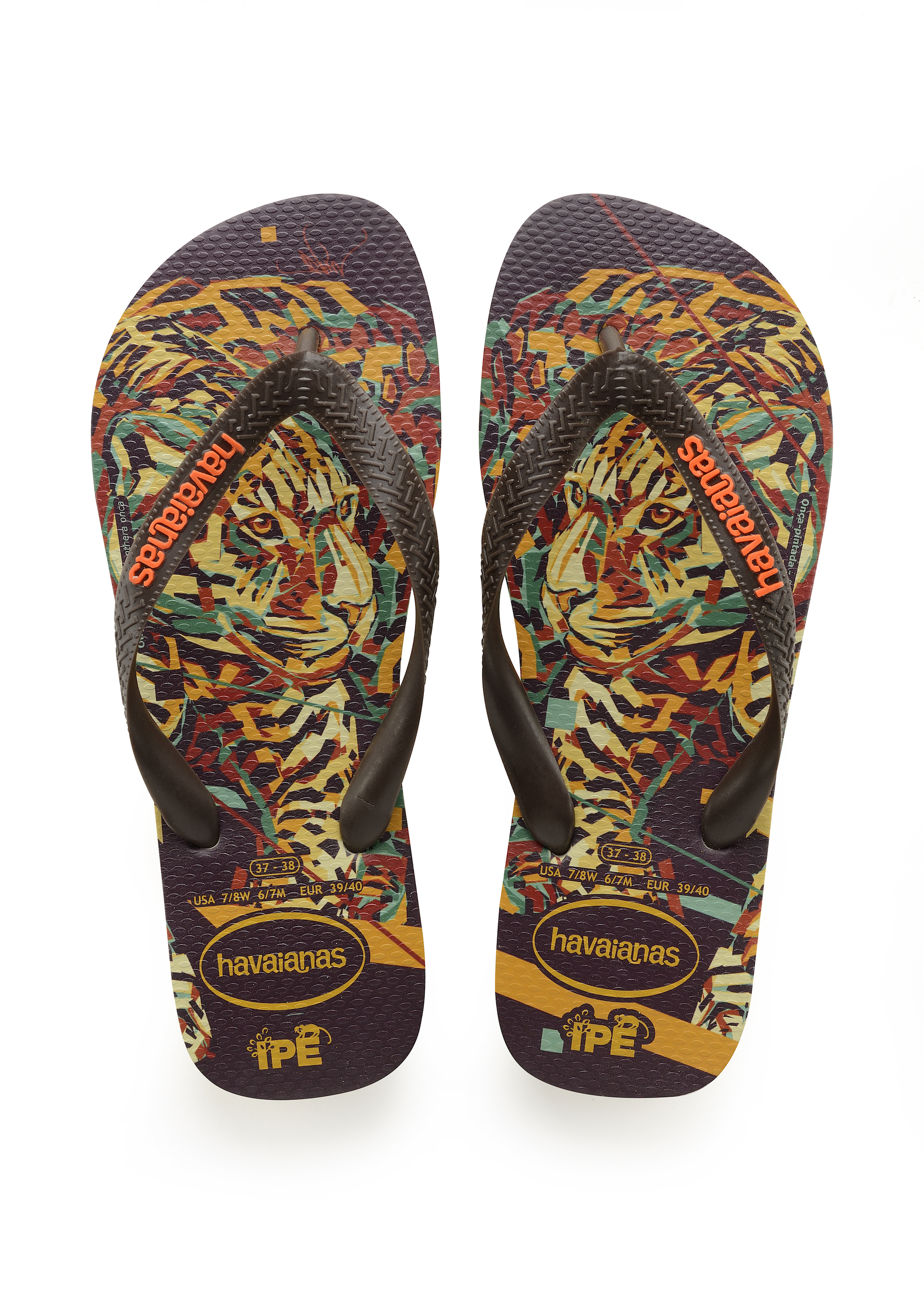 Havaianas x Arlin Graff collaboration cheetah