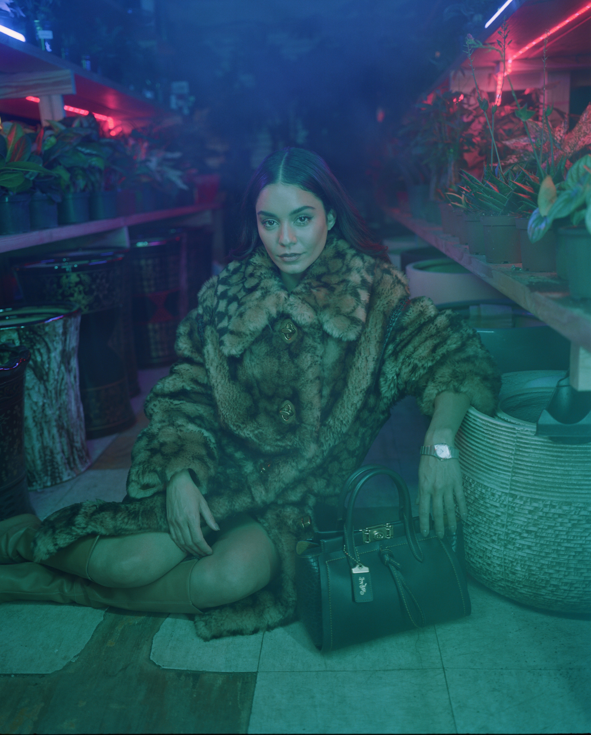 Vanessa Hudgens Omega cover interview in Sumer 19 issue of Wonderland sitting down