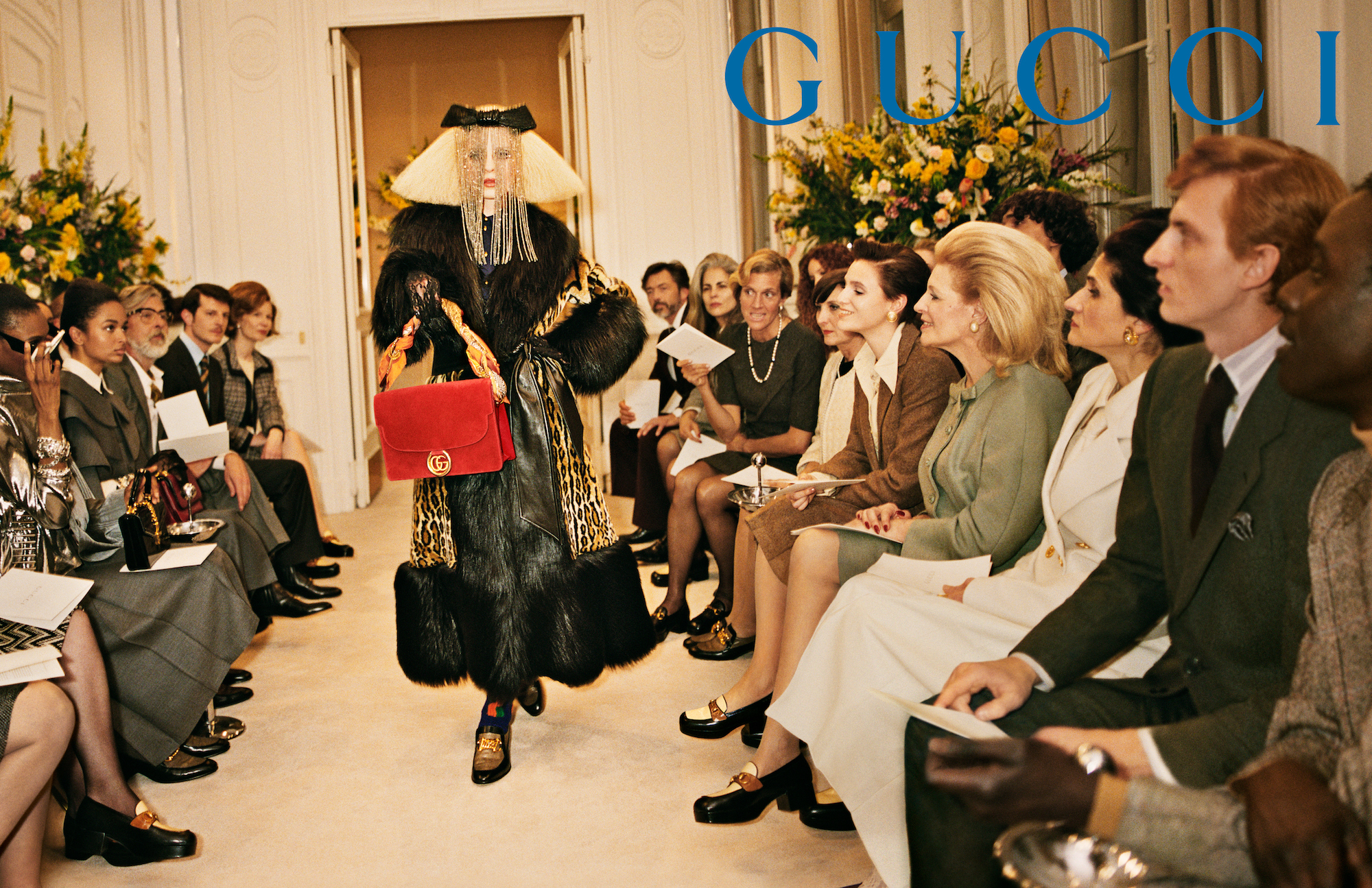 Gucci AW19 campaign shot by Glen Luchford catwalk