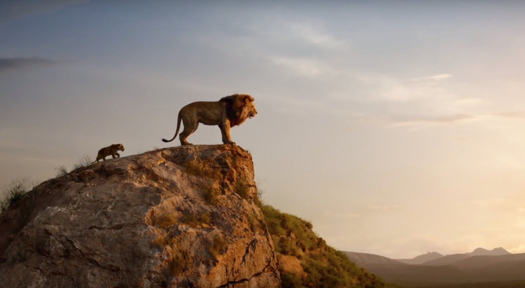 Wonderland film review The Lion King Mufasa and Simba