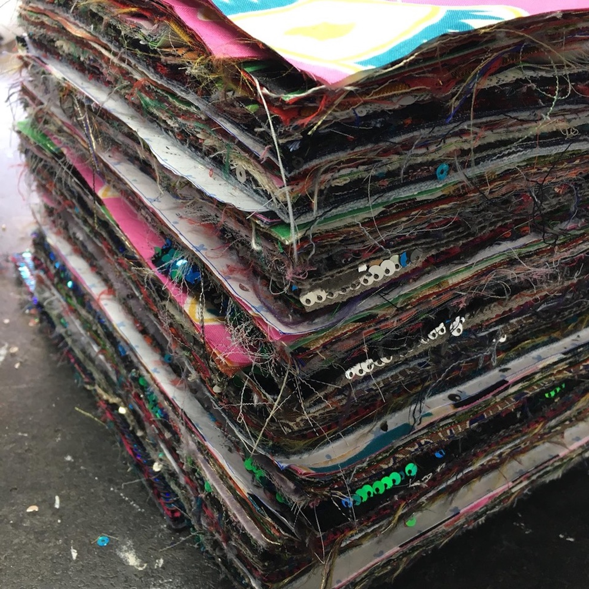 RAGYARD zero waste collection fabric