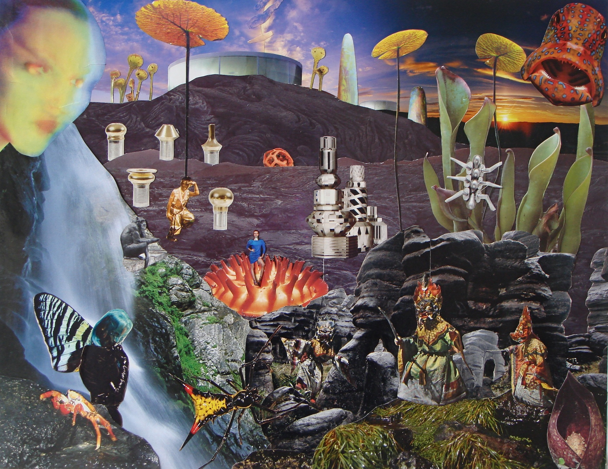 Seana Gavin Collage Wonderland another planet