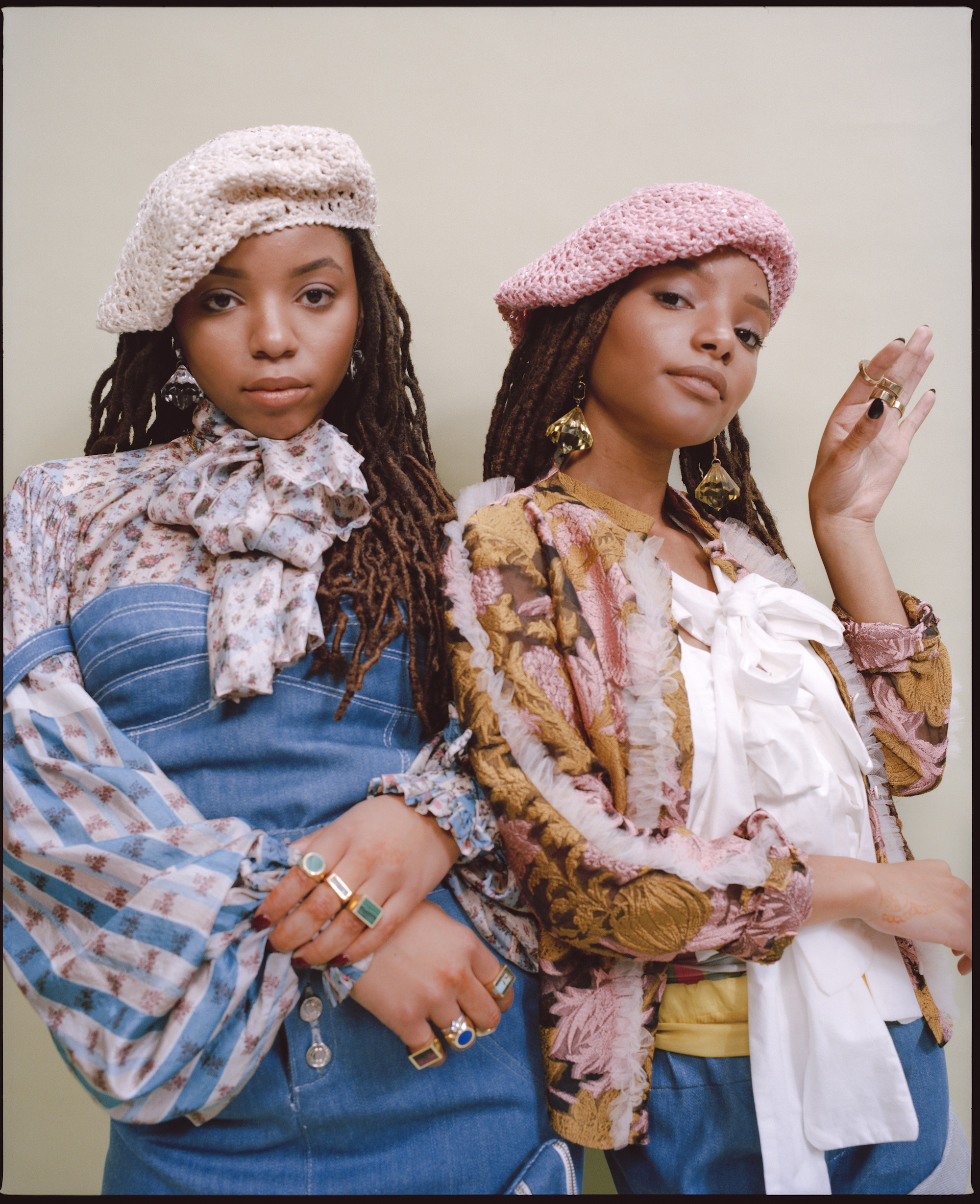 chloe x halle singer and actress halle bailey will star as mermaid Ariel Disney remake