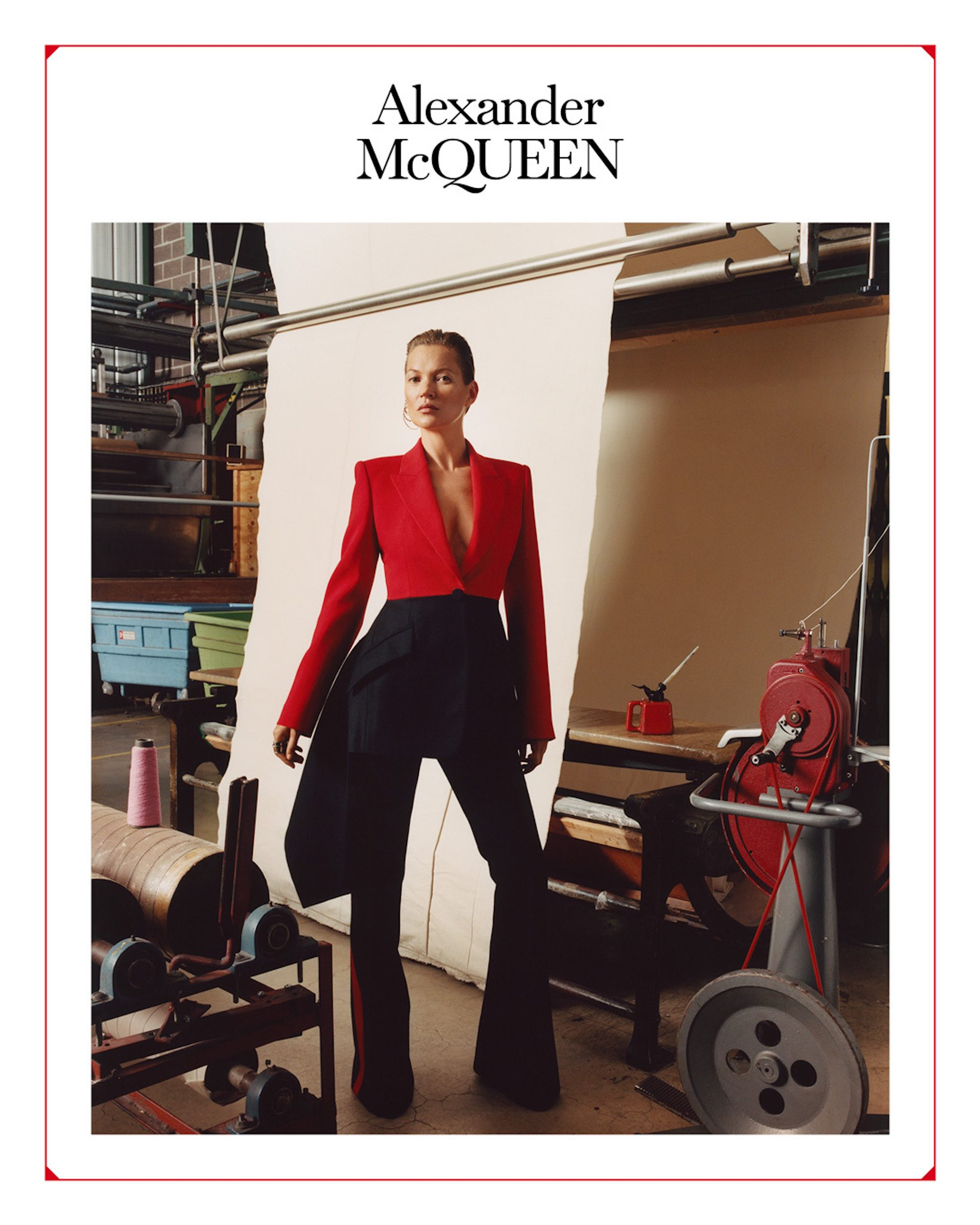Kate moss Alexander McQueen AW19 campaign