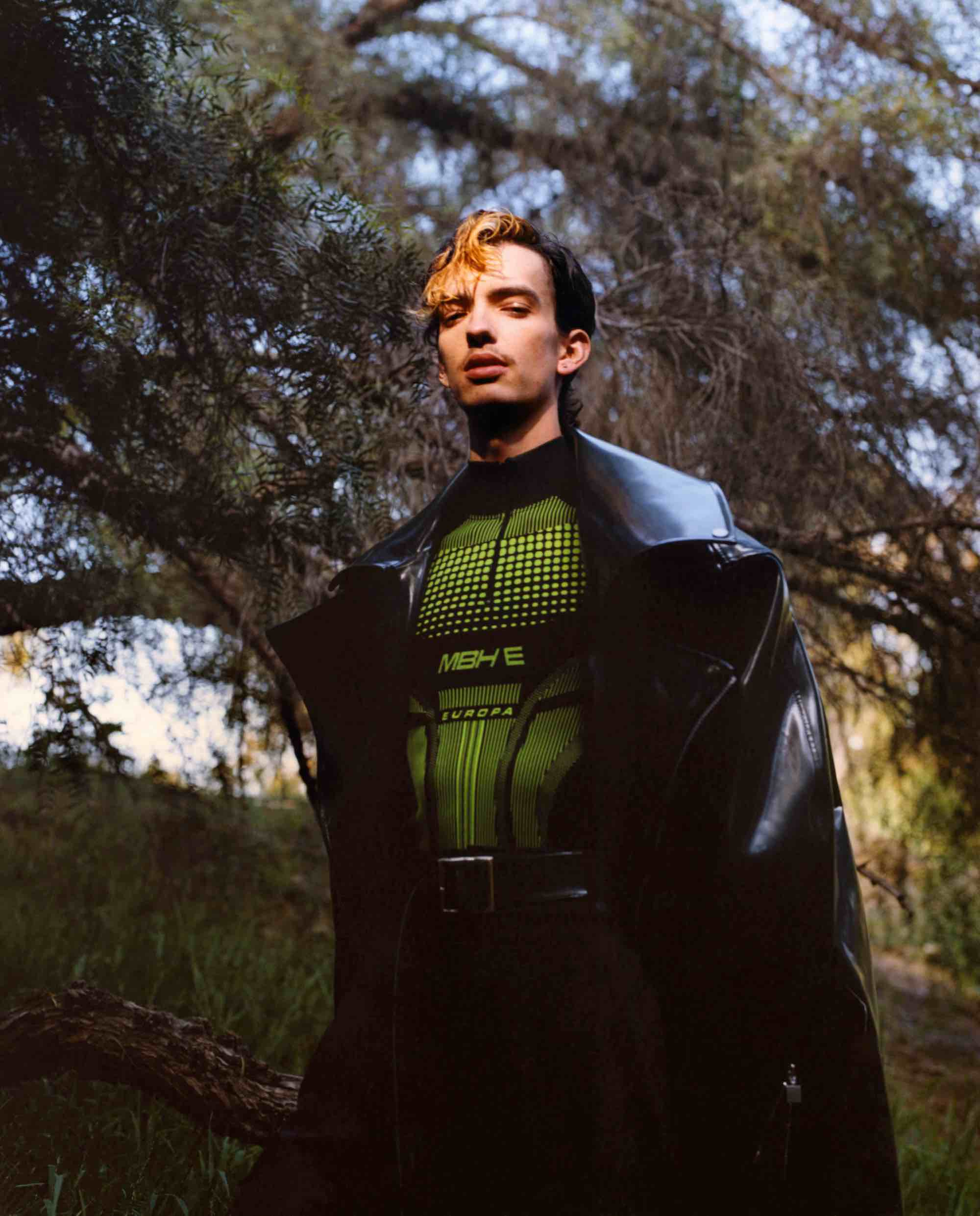X-Men actor Kodi Smit-McPhee for Wonderland Summer 19 issue in leather jacket