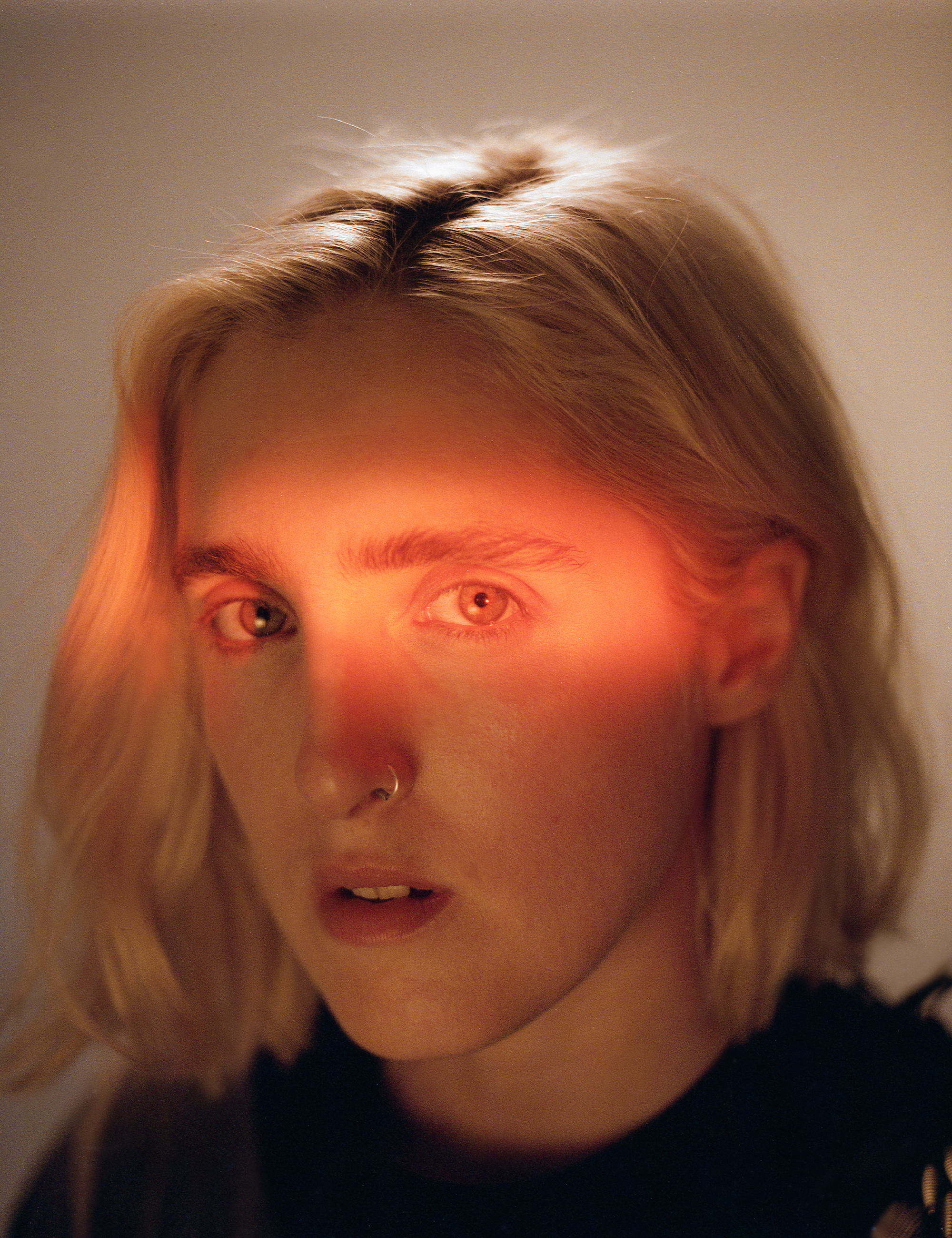 Singer Shura in the Omega Zine in the Summer 19 issue of Wonderland close-up