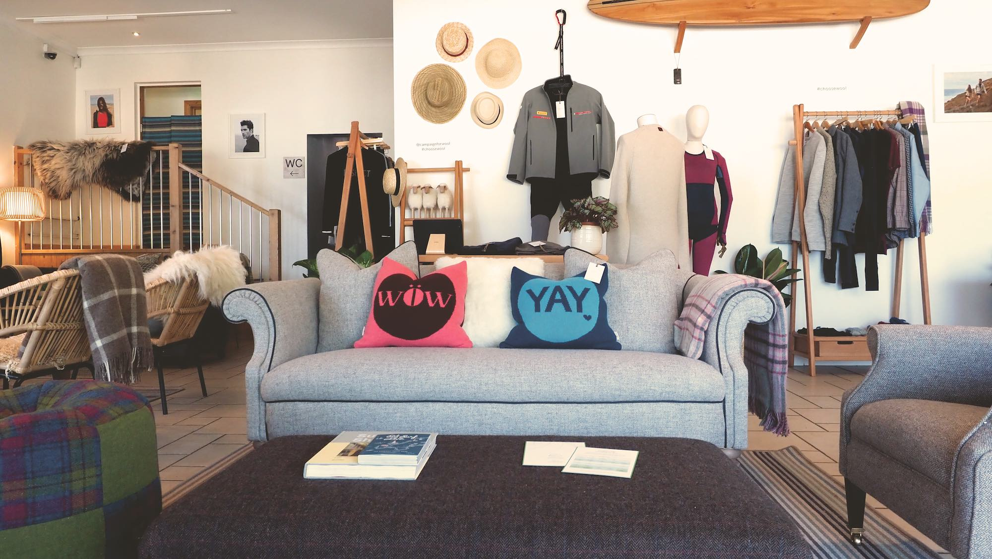 wool beach lodge choose wool campaign