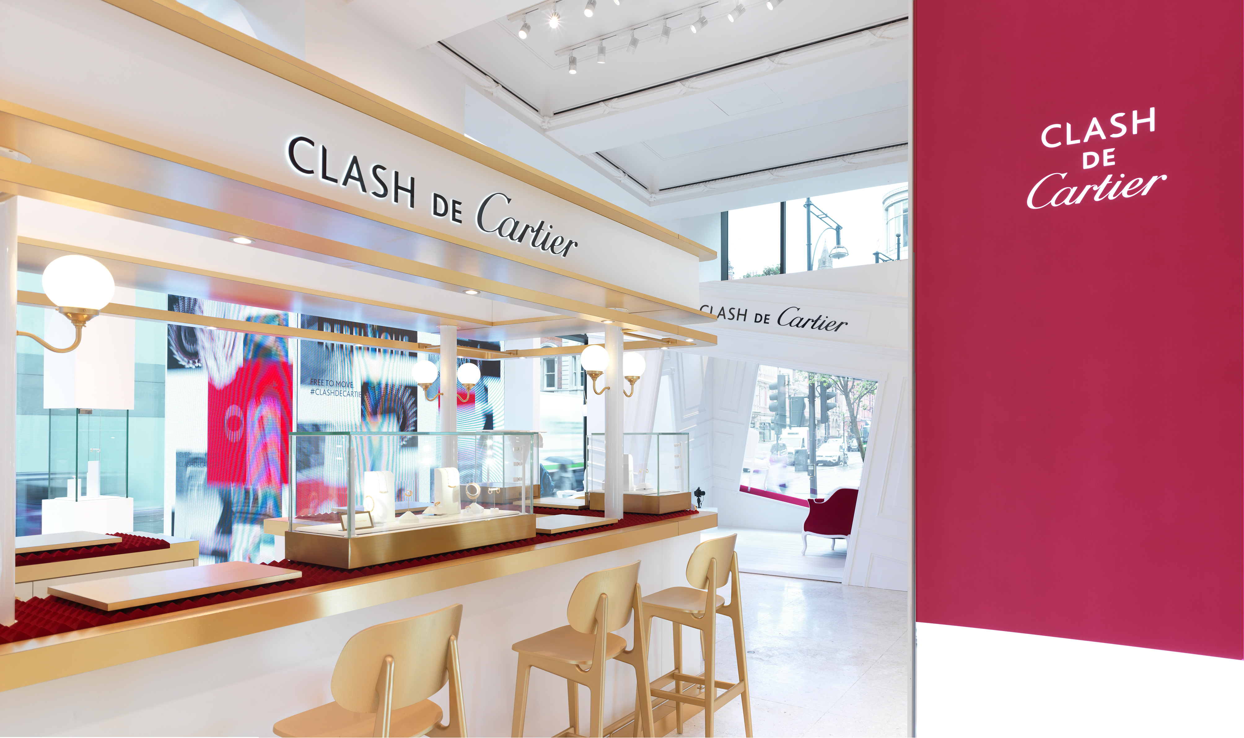 Wonderland Clash de Cartier pop-up selfridges