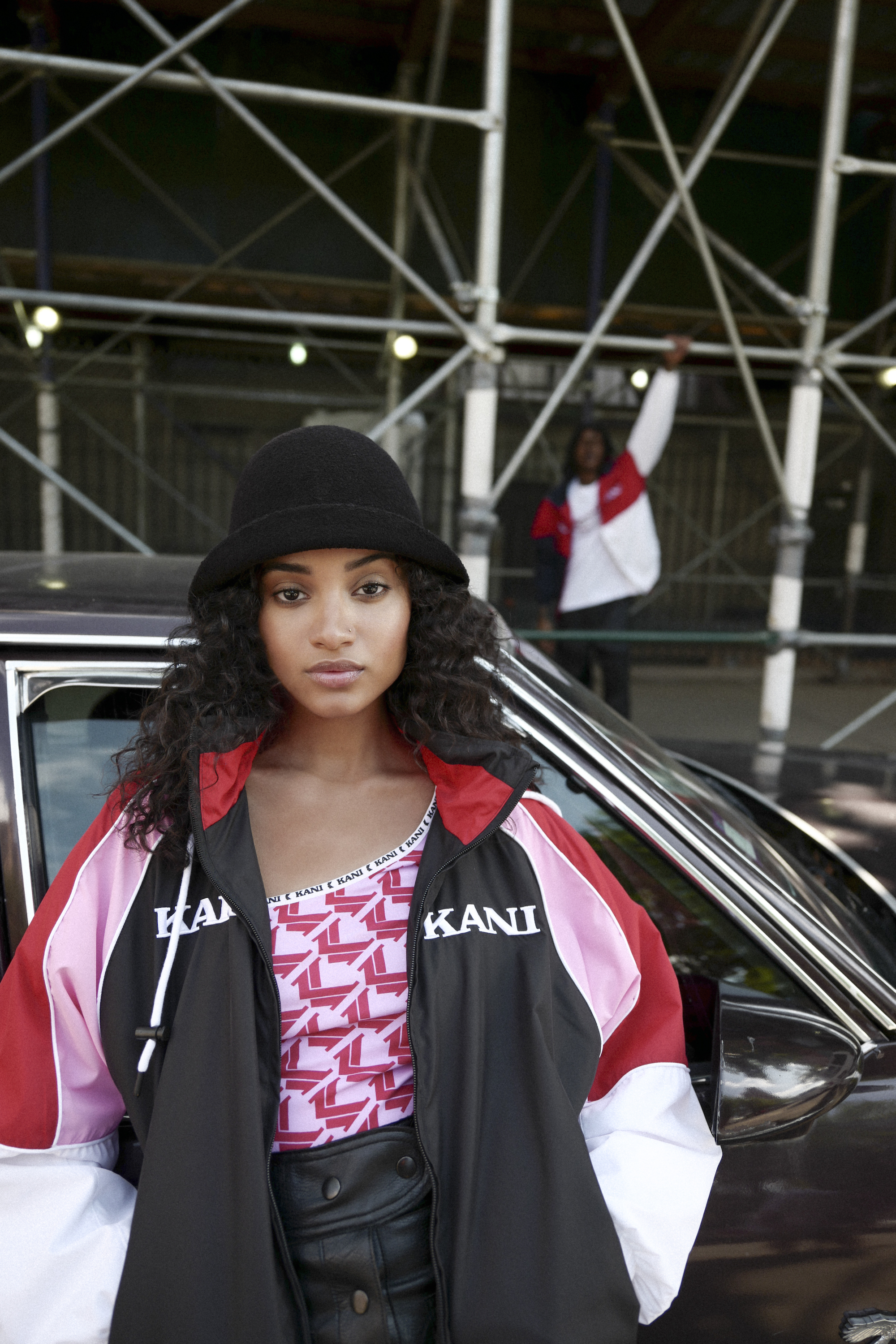Karl Kani Fall/Winter campaign windbreaker womens