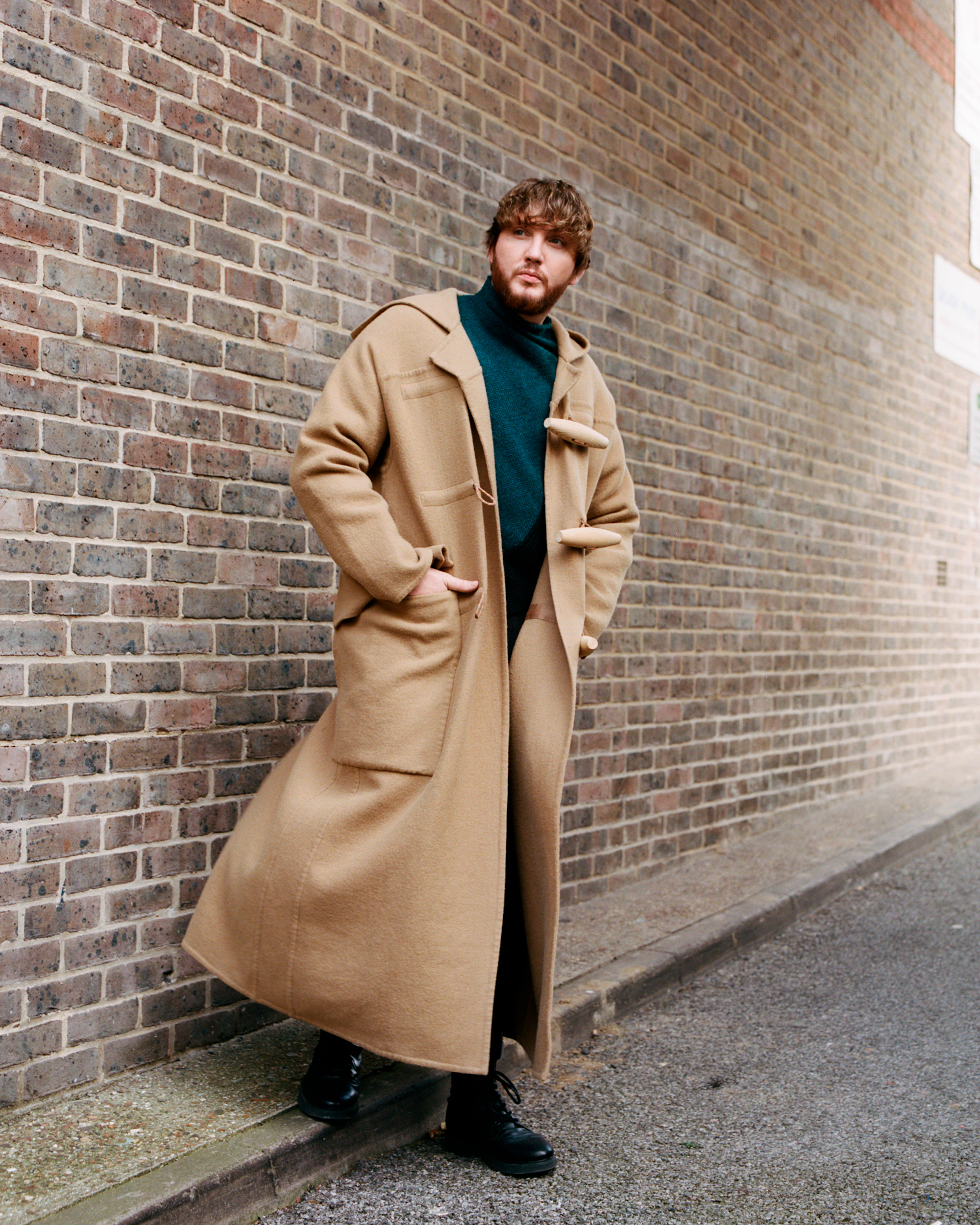 James Arthur coat