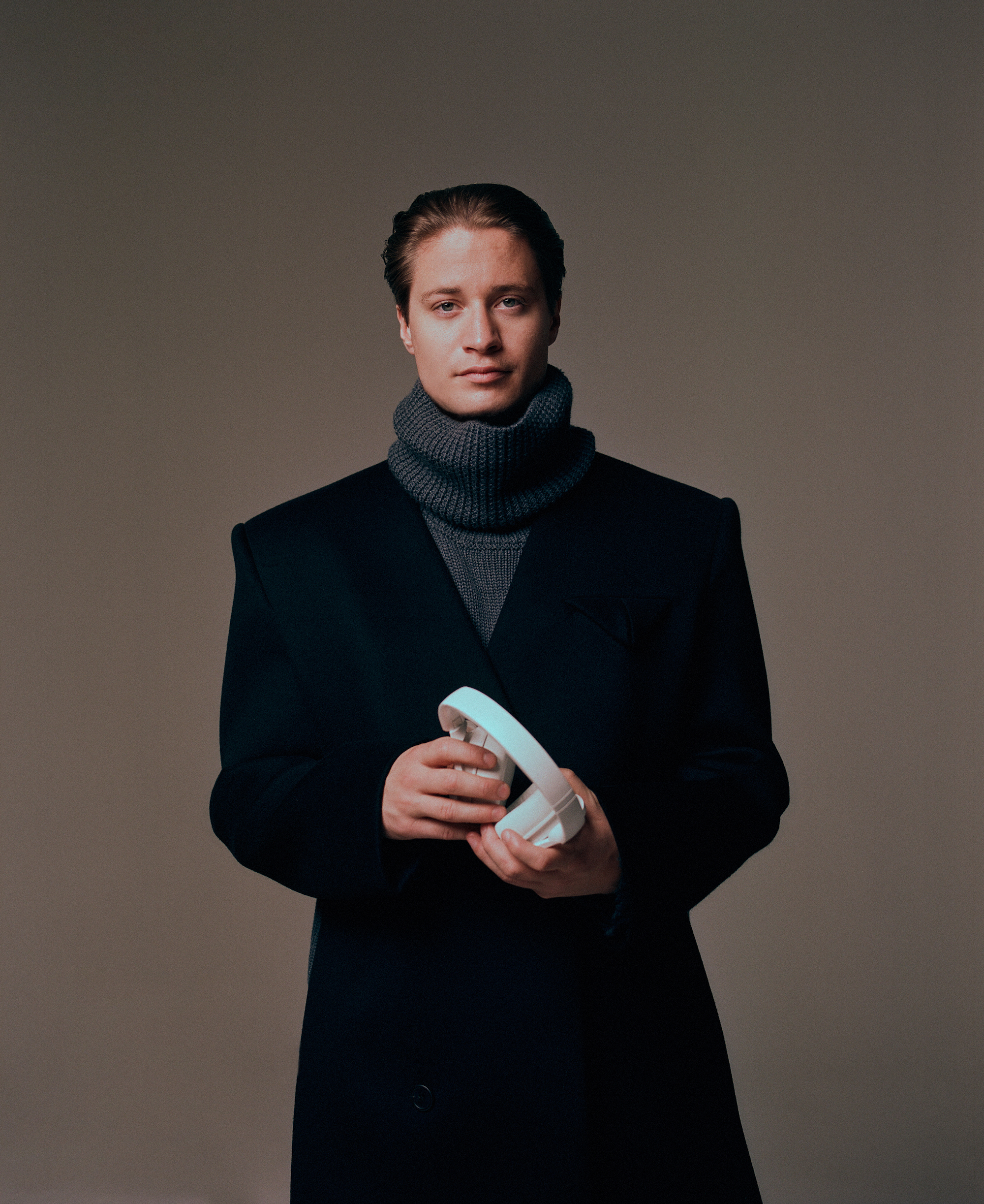 Kygo on the cover of Rollacoaster AW19 all black