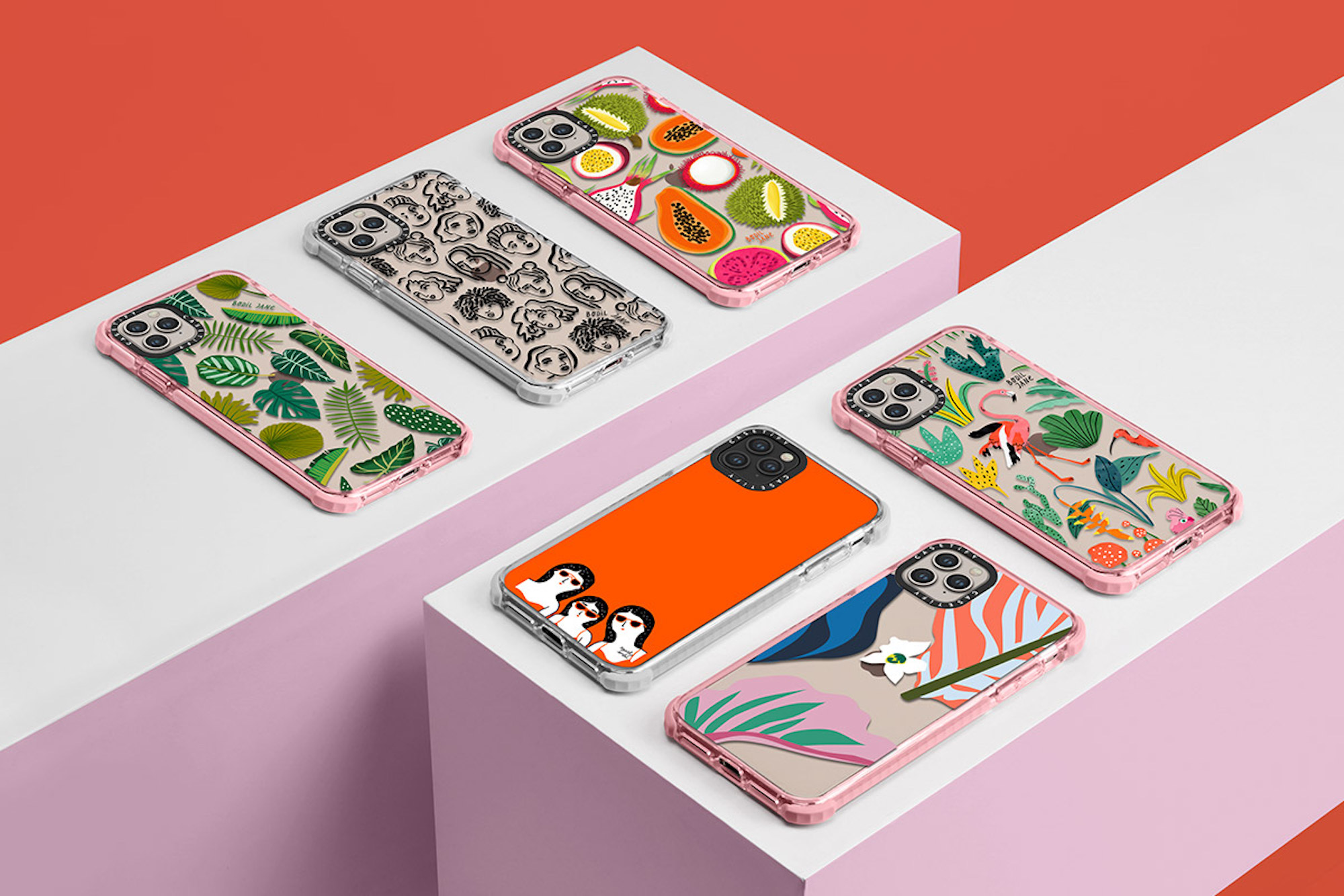 CASETiFY new red phone cases