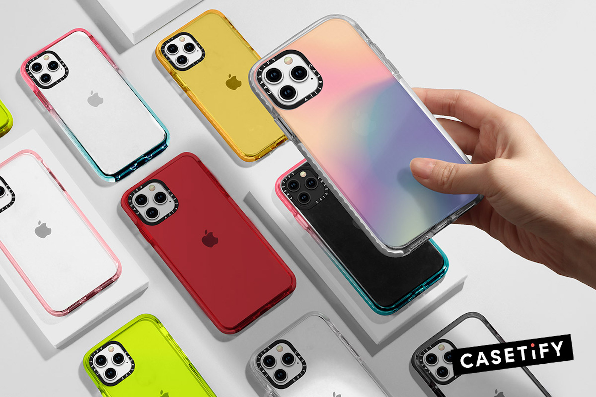 CASETiFY new holographic phone cases