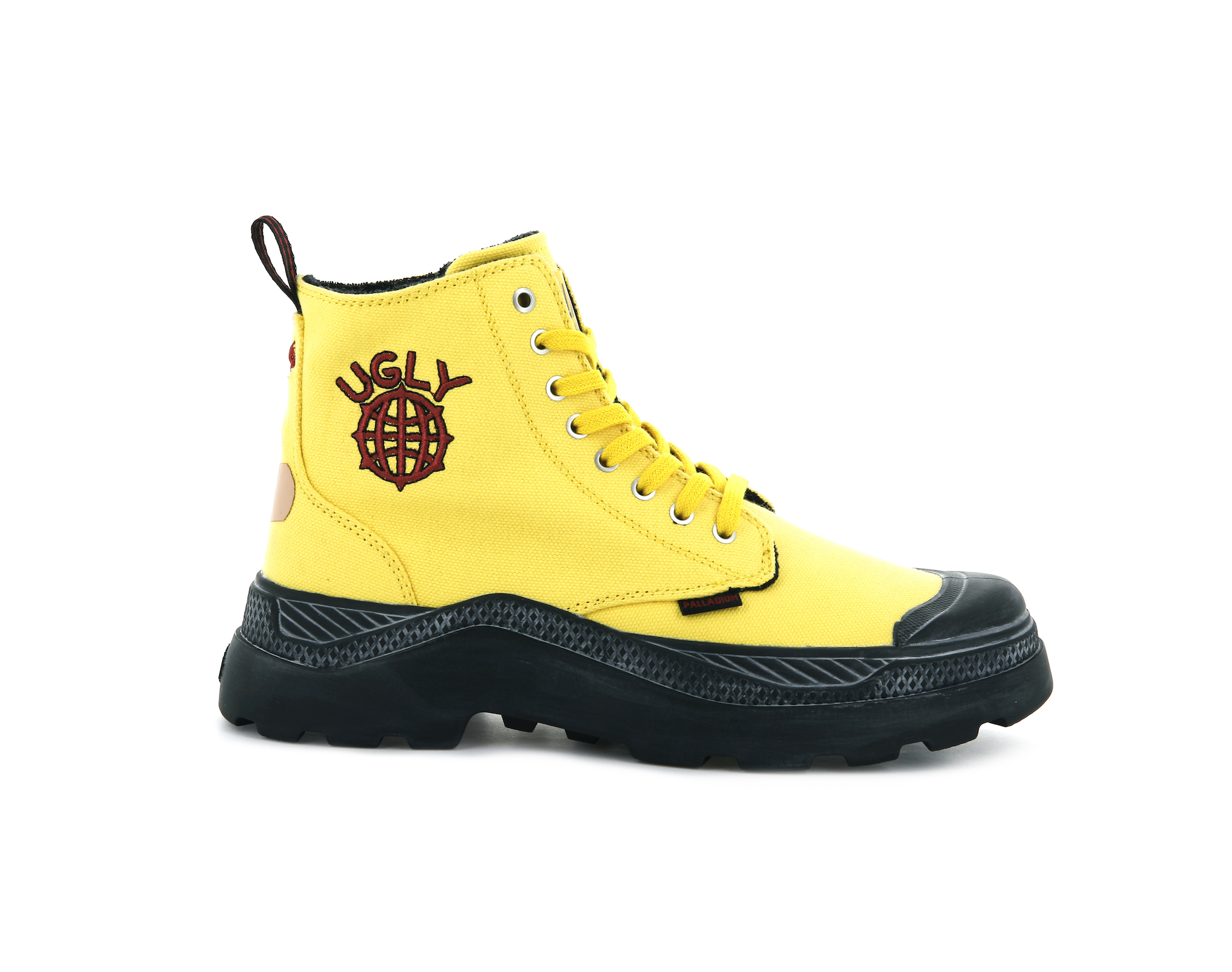 Palladium x Ugly Worldwide yellow boots