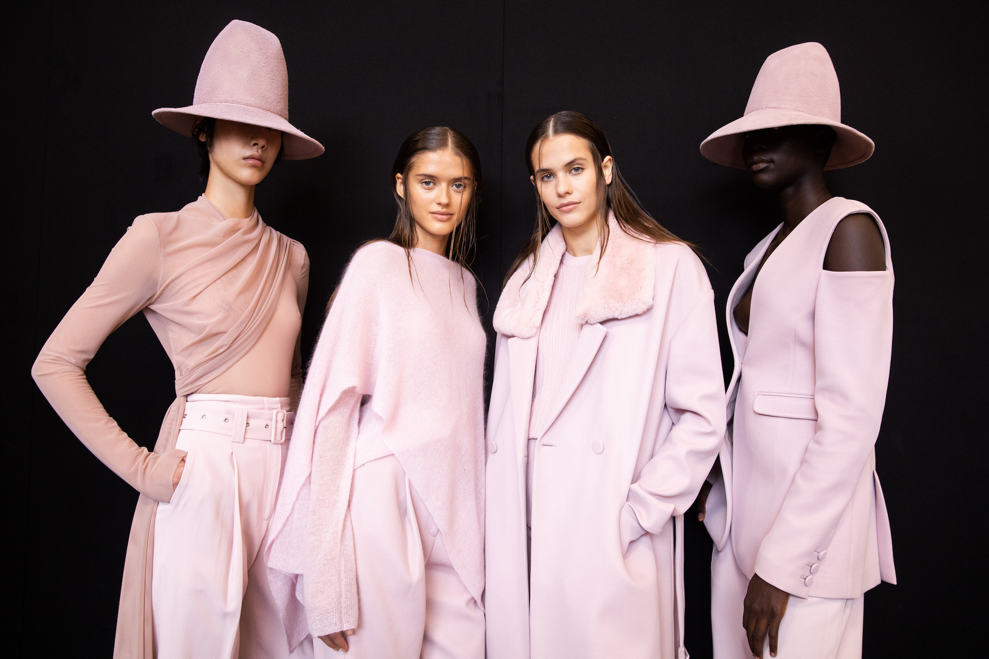 Sally LaPointe NYFW SS20 pink outfits
