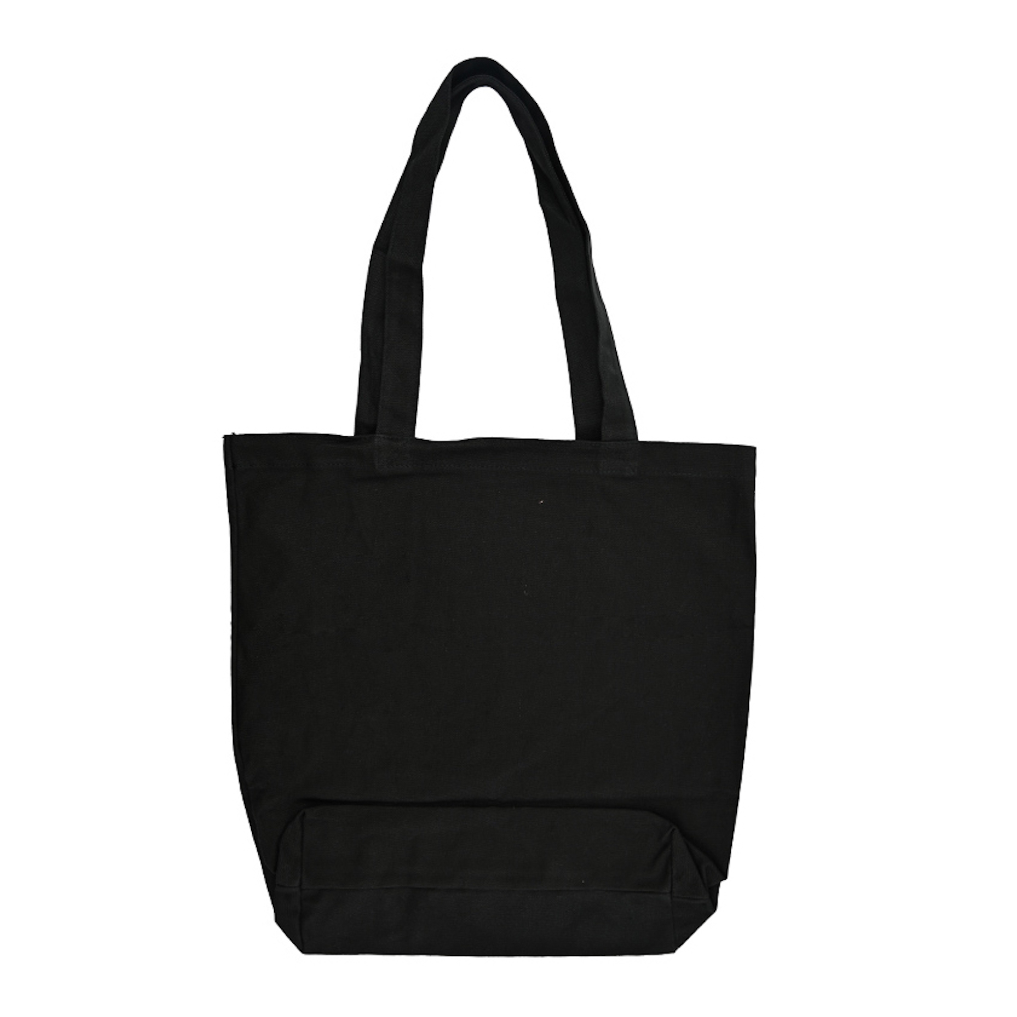 Man About Town tote bag back