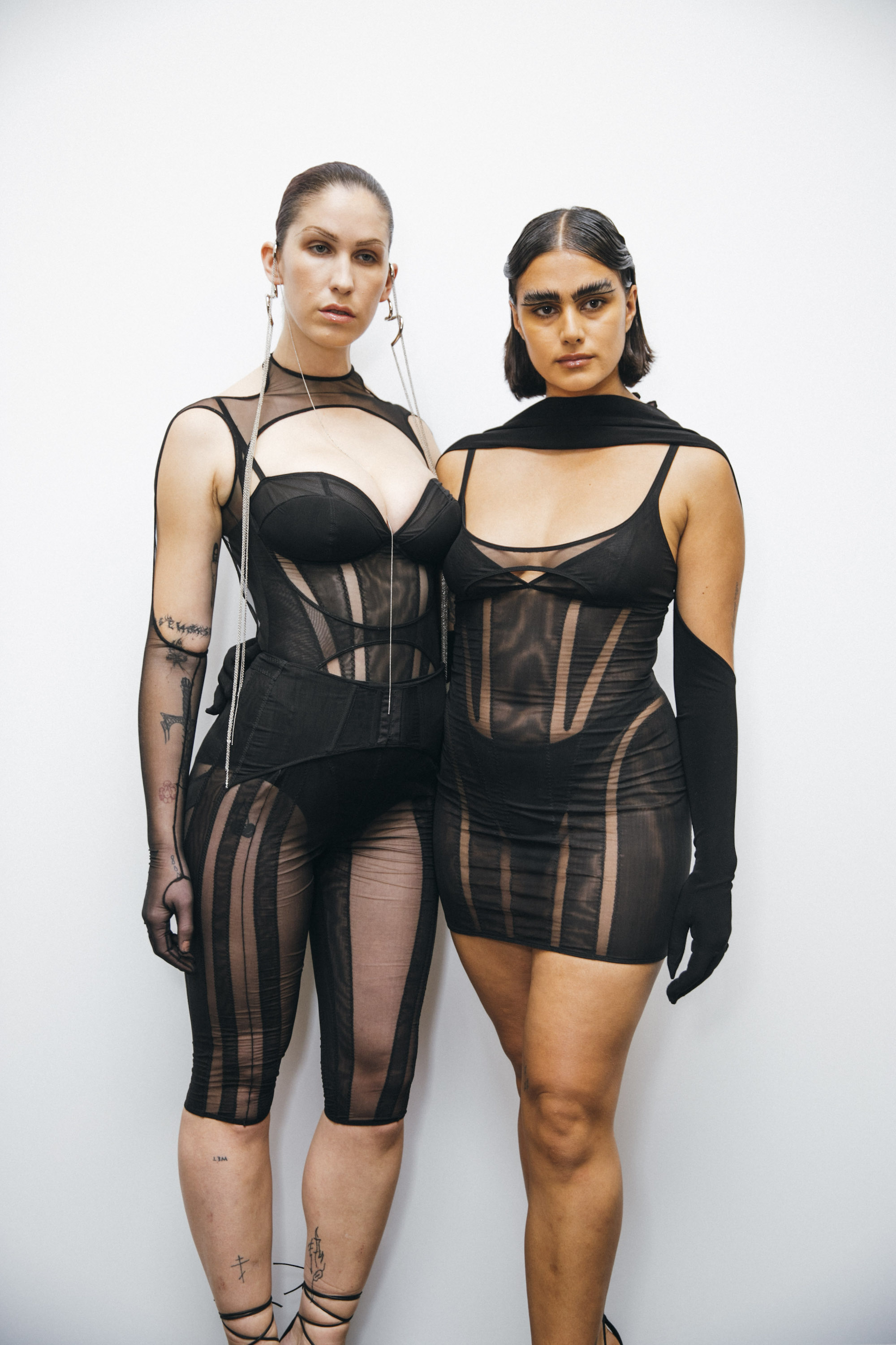 Mugler SS20 at Paris Fashion Week lingerie