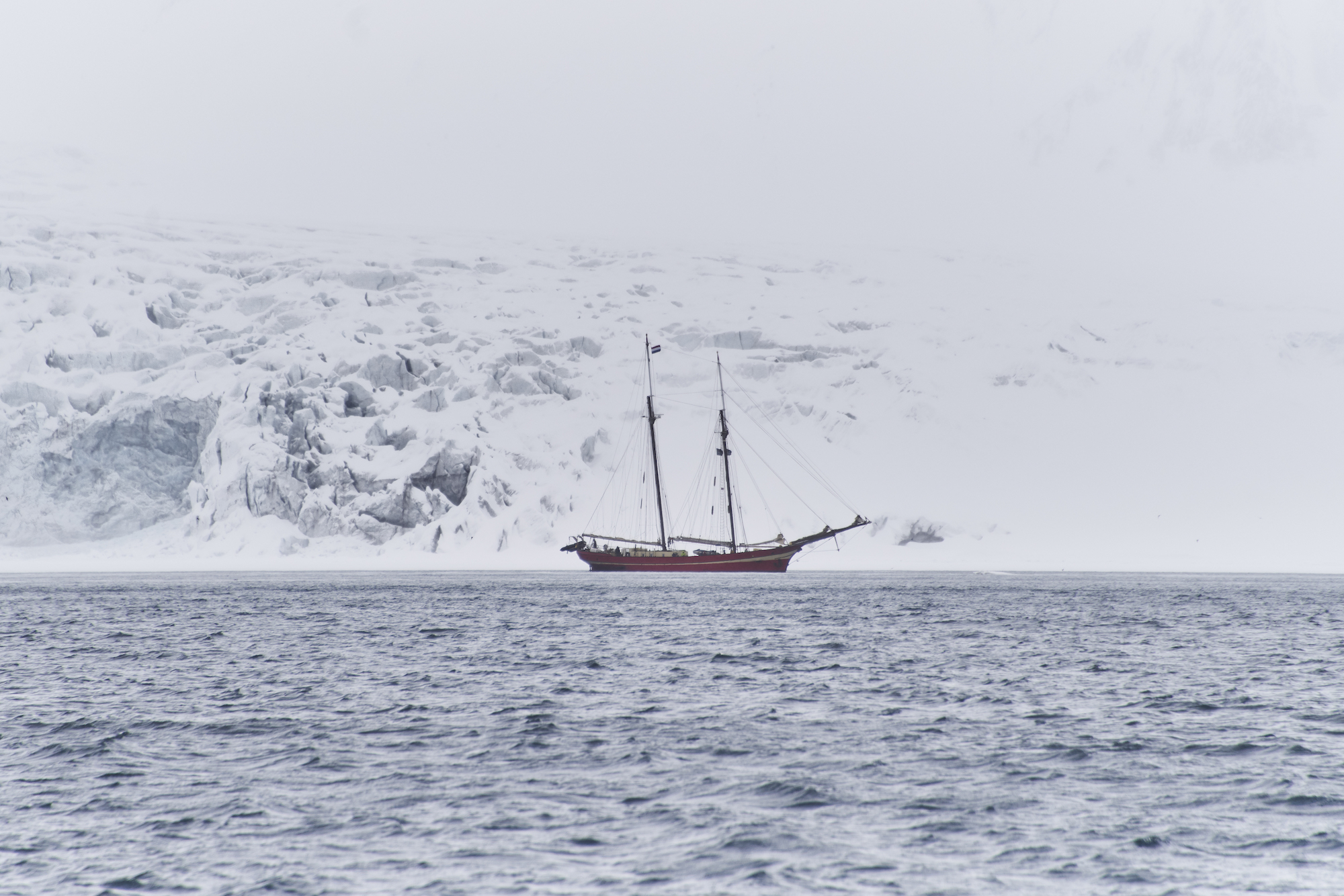 Wonderland Parajumpers stories Svalbard Norway boat