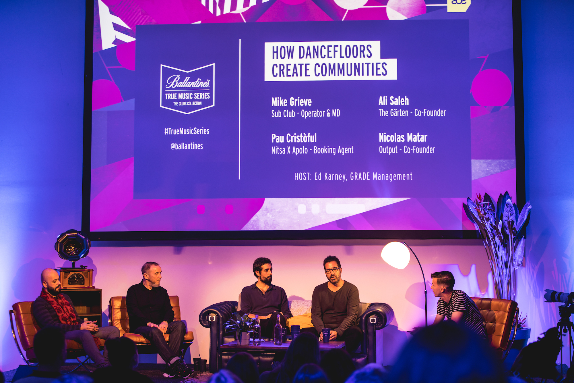 Ballantine's x Amsterdam Dance Event panel talk