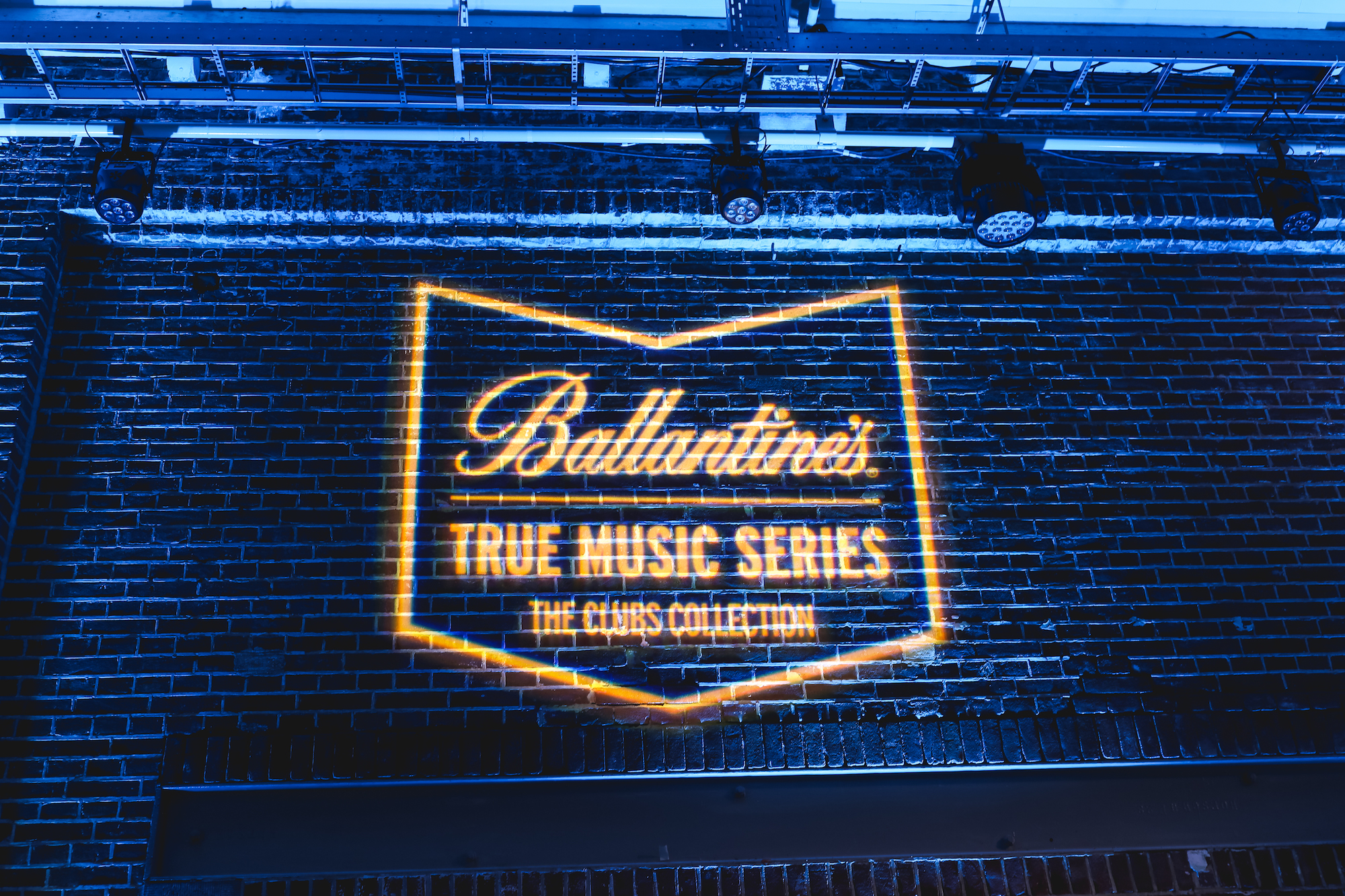 Ballantine's x Amsterdam Dance Event stamp