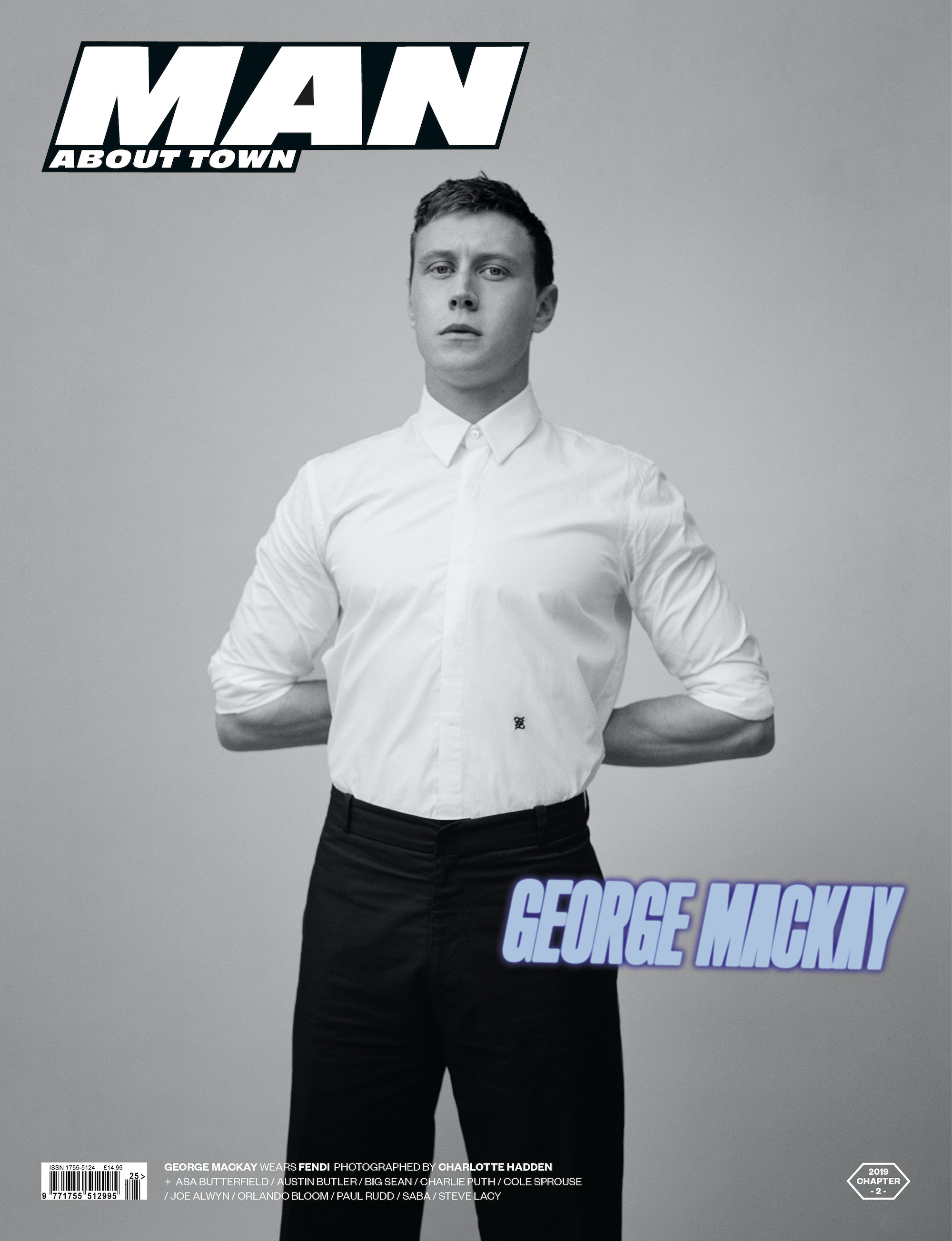 Wonderland cover reveal George Mackay Man About Town 2019: Chapter II