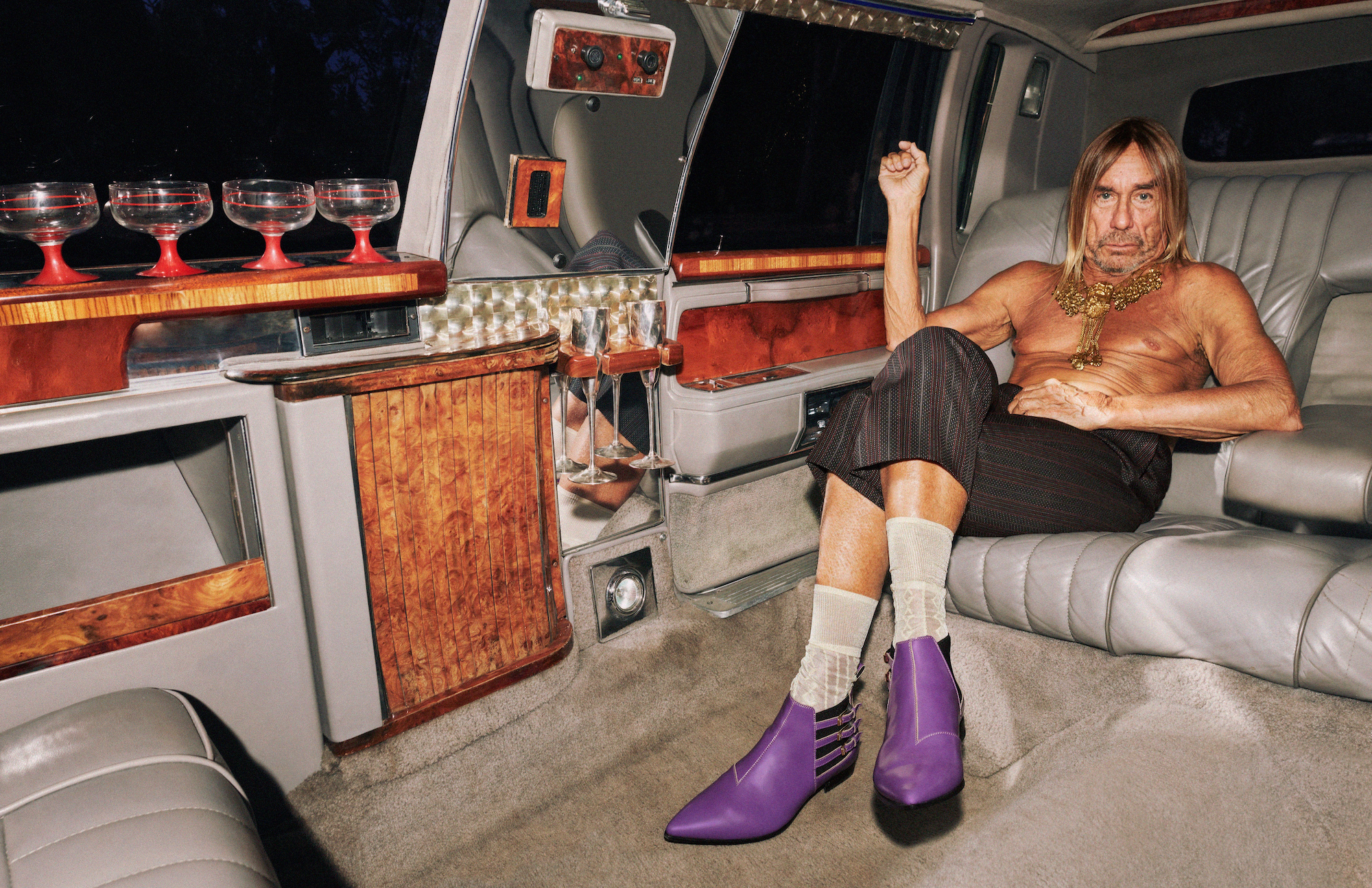 Wonderland Gucci 2020 campaign Iggy Pop
