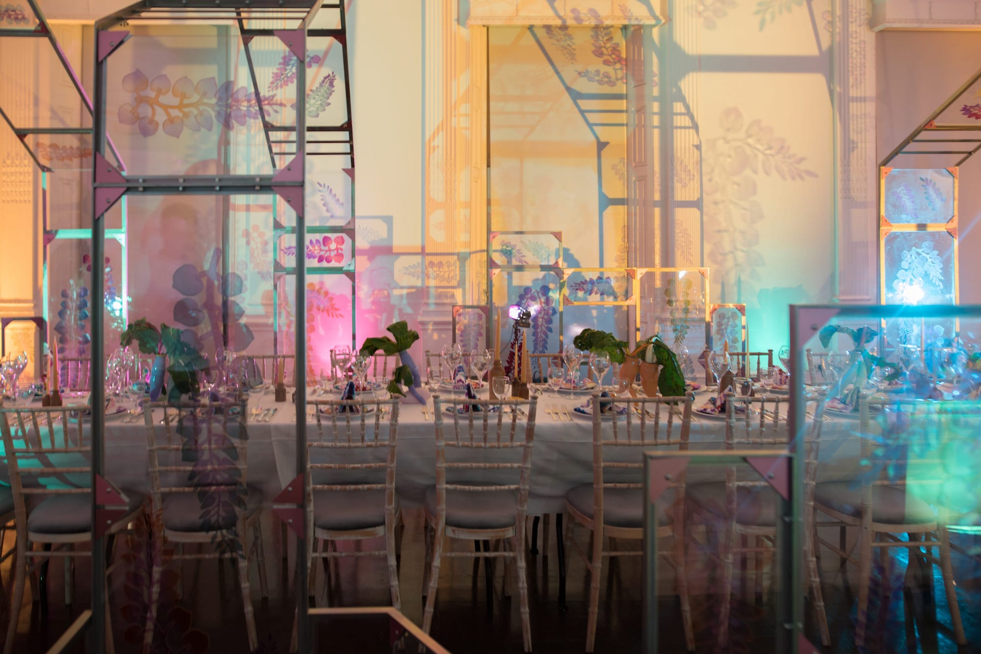 HyperNature Harvest: an intimate dinner where guests were invited to taste Maison Perrier-Jouët's Art of the Wild table
