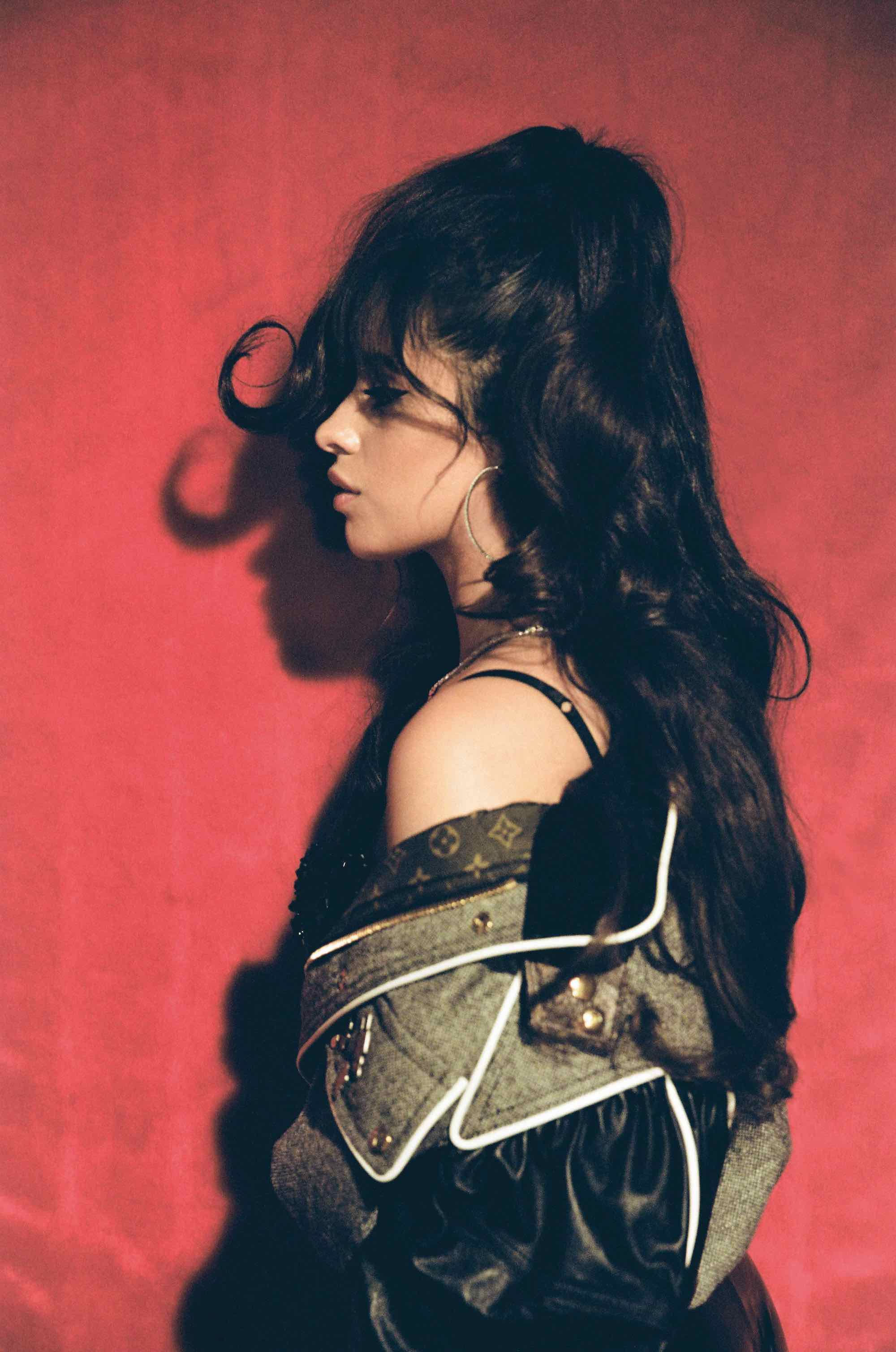 Wonderland Autumn 19 issue interview Camila Cabello hair flick 2