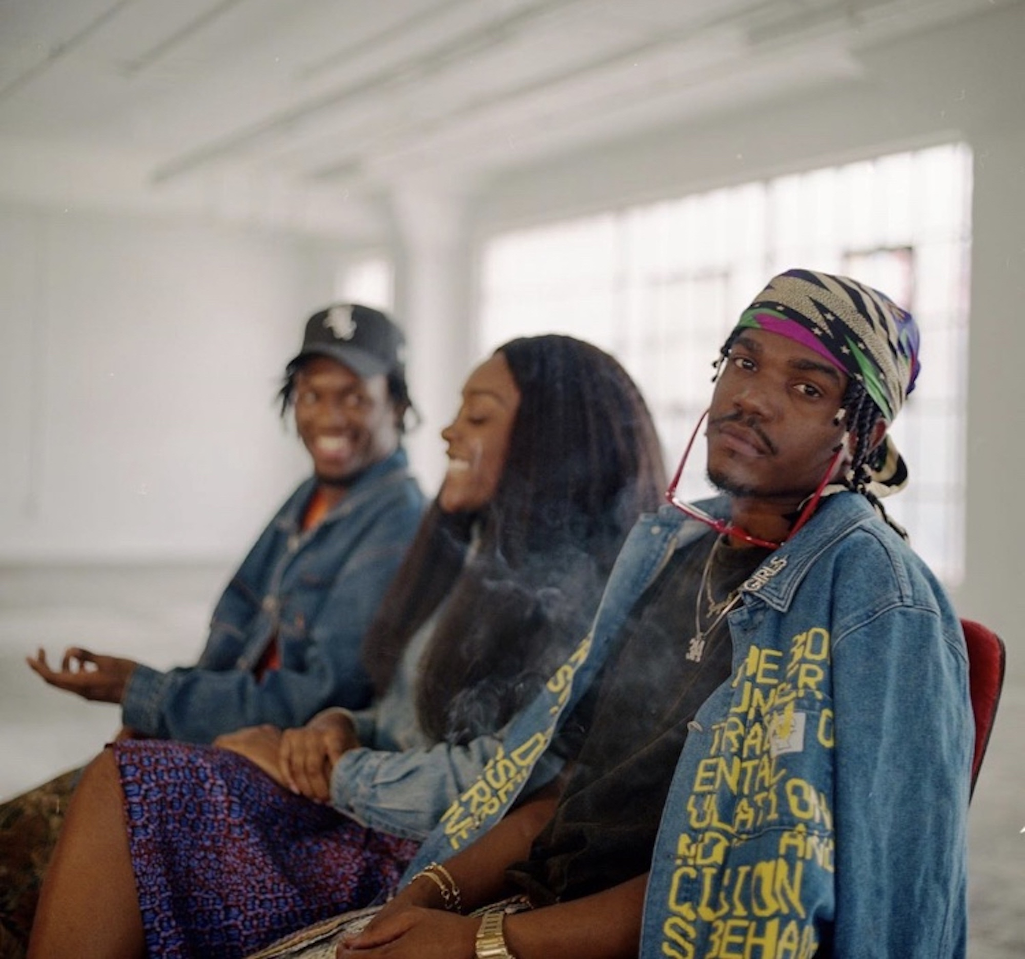 Wonderland news Smino Saba Noname musical collective Ghetto Sage