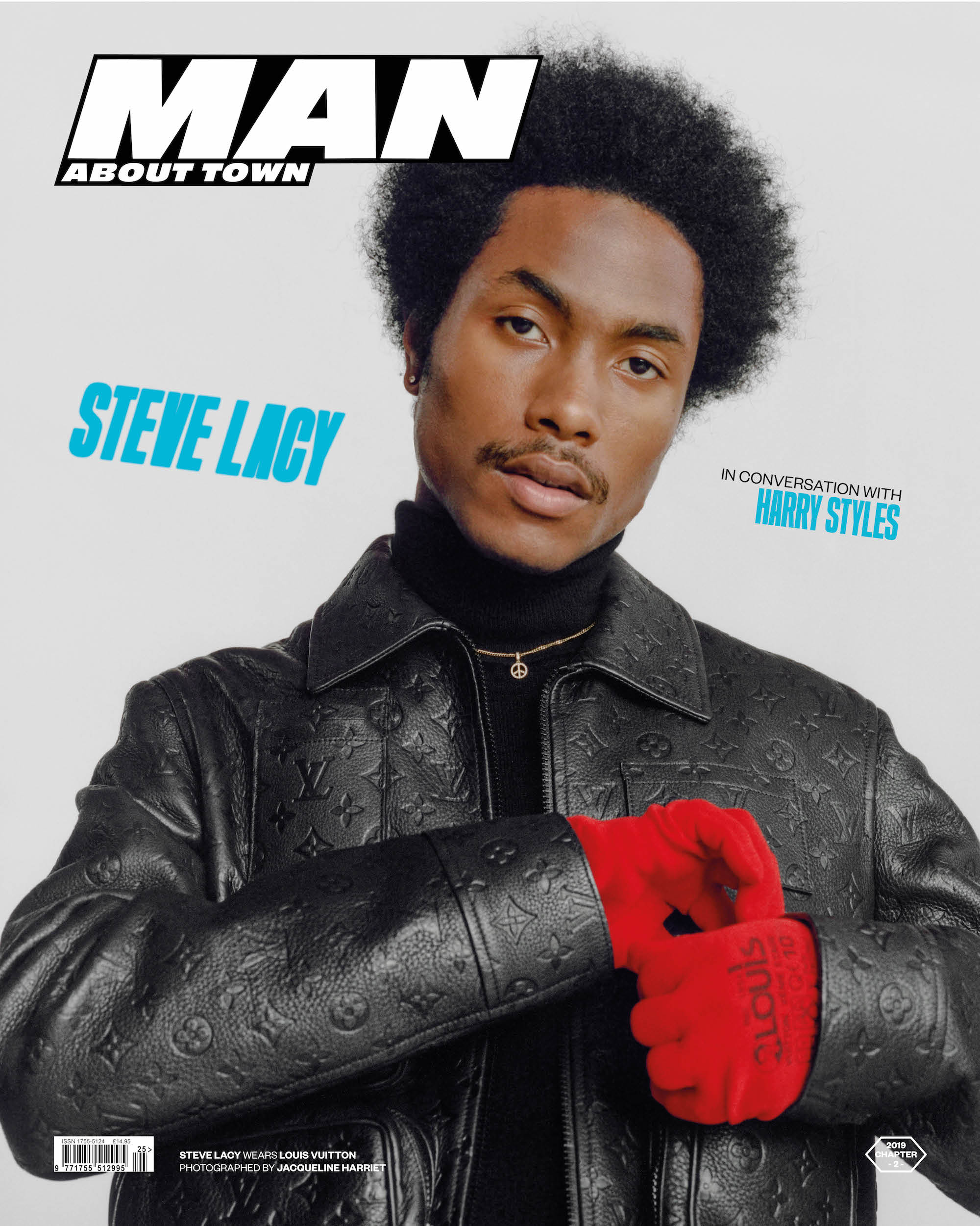 STEVE LACY interviewed by HARRY STYLES covers Man About Town: 2019, Chapter II cover