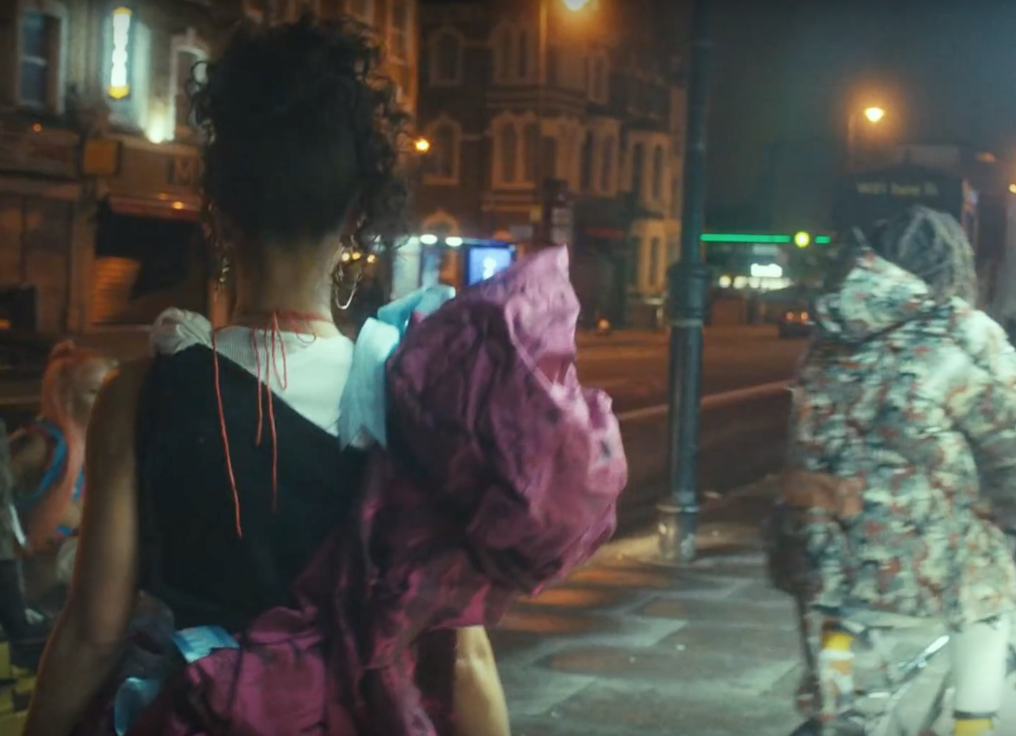 Wonderland FKA Twigs new music video Kingsland road